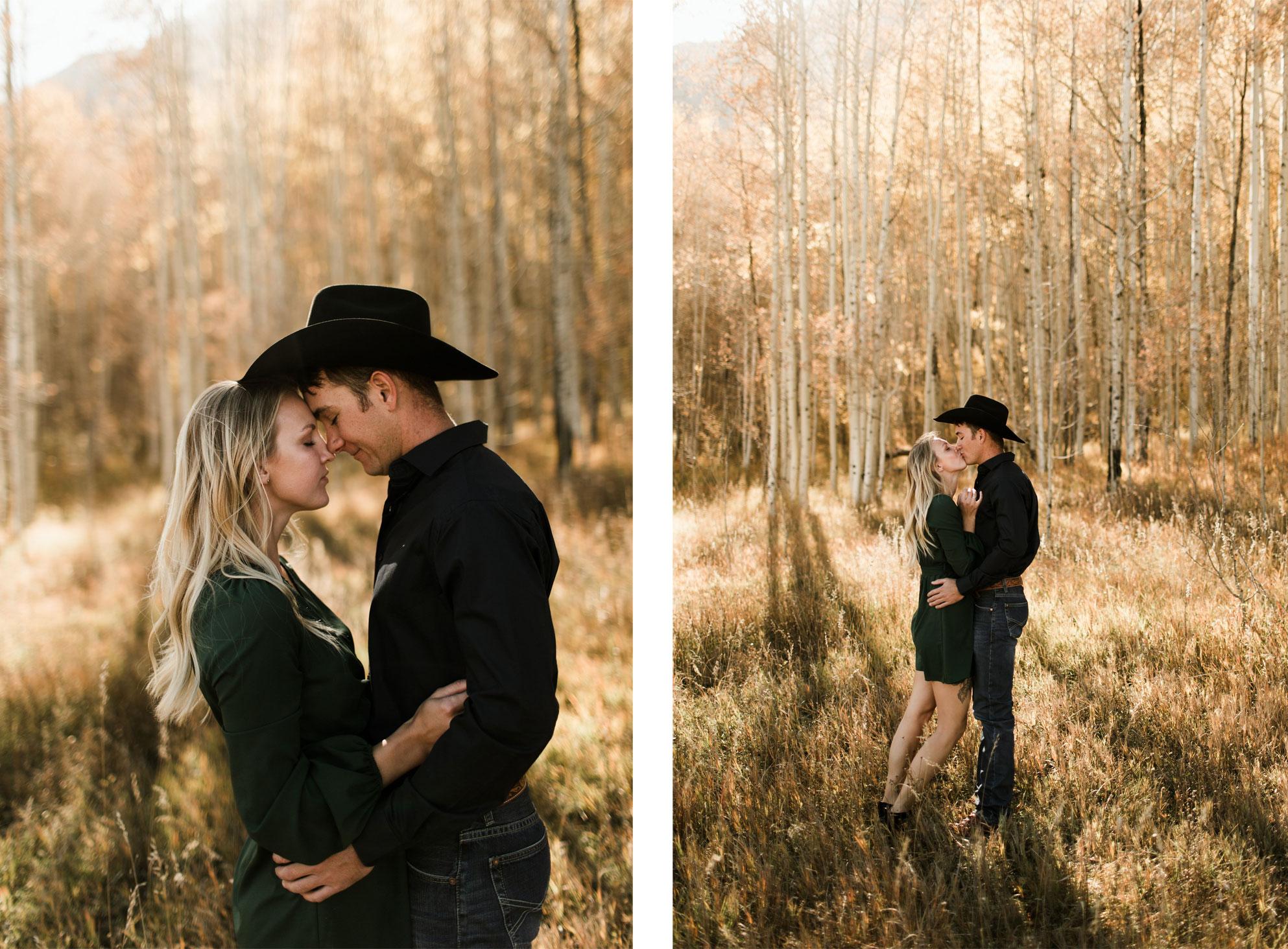 An Autumn Photo Session in the aspens in Durango, Colorado