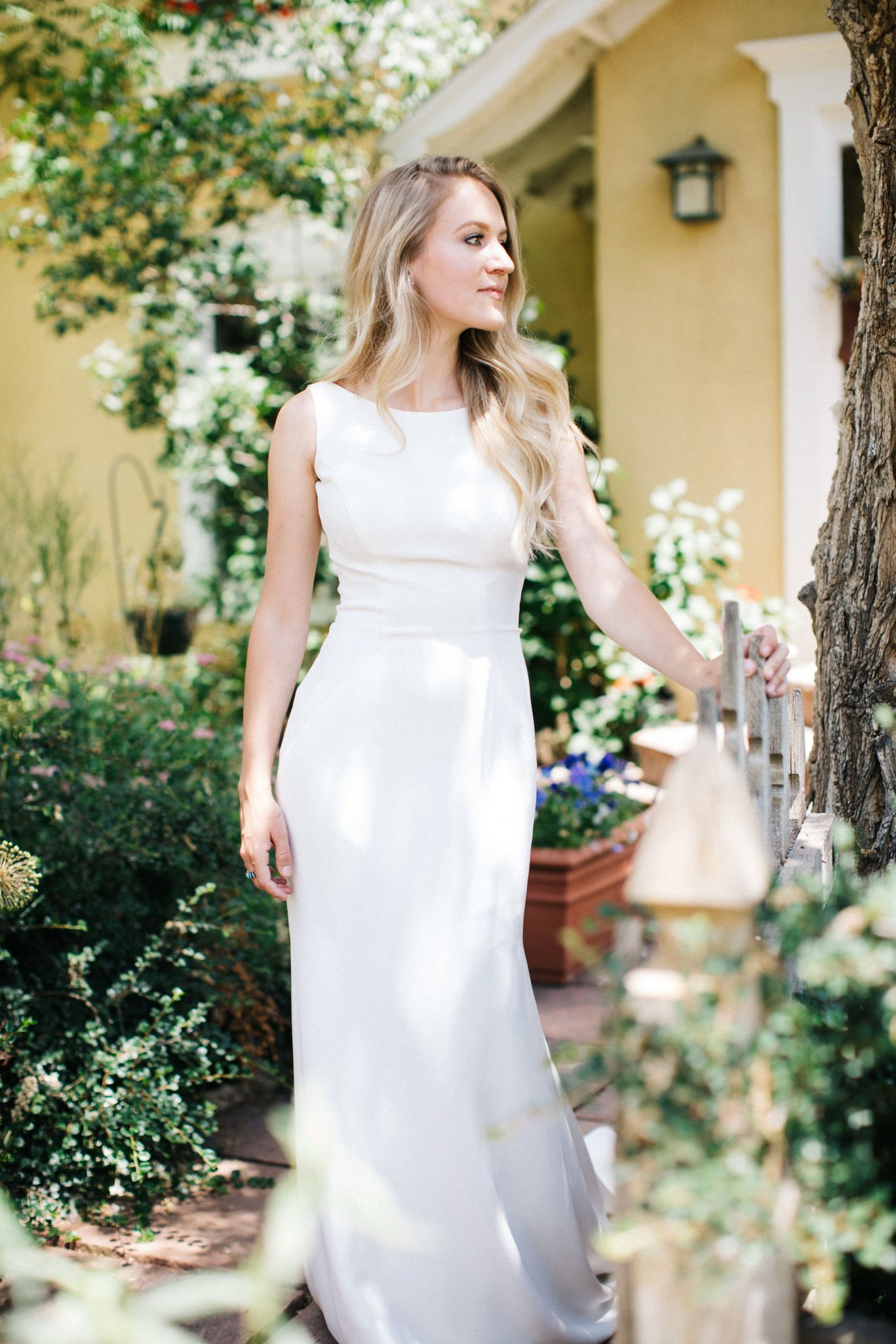 A Romantic Garden Wedding in Durango, Colorado