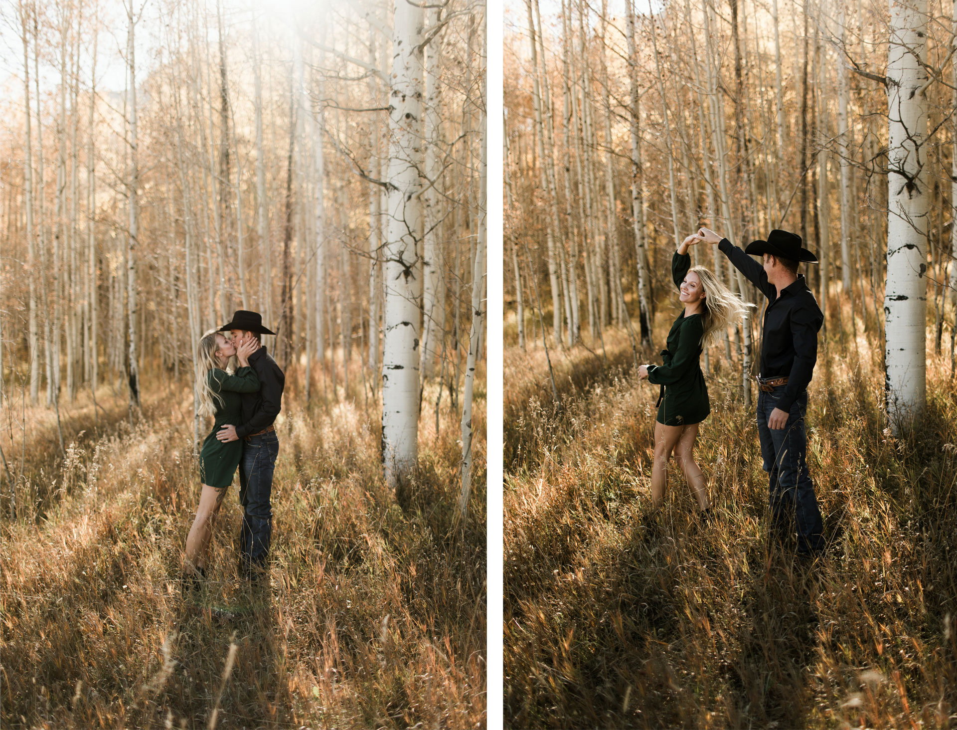 A Fall Engagement Photo Session in Durango, Colorado
