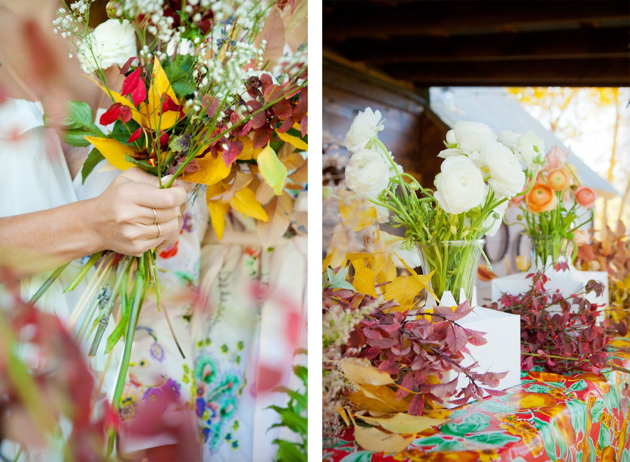 Florals - An Outdoor Autumn Wedding in Mancos, Colorado