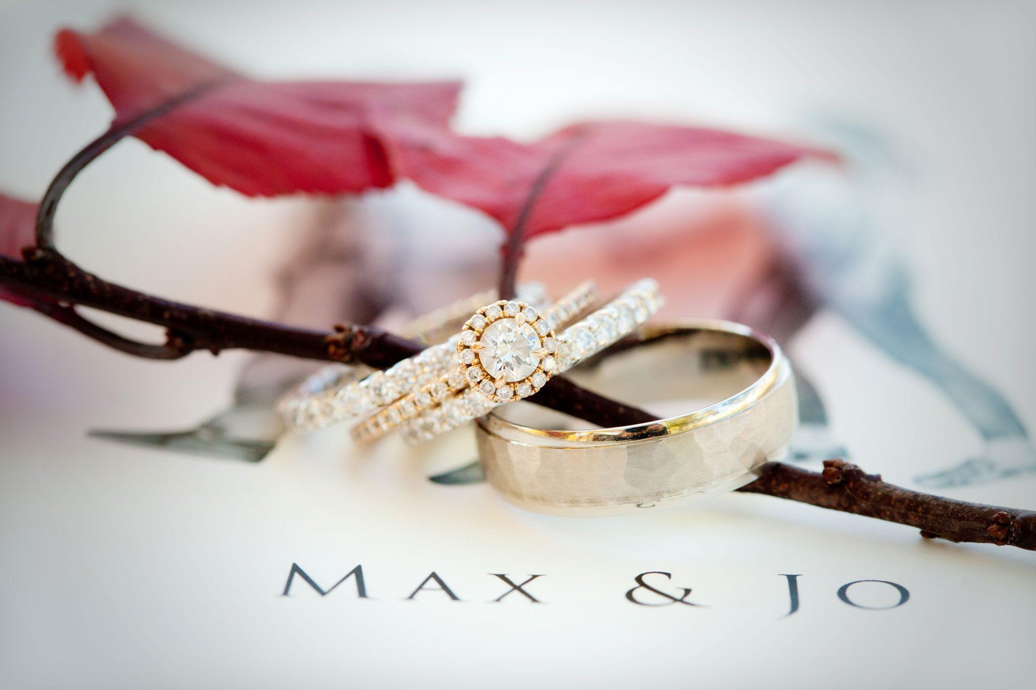 Rings   An Outdoor Autumn Wedding in Mancos, Colorado