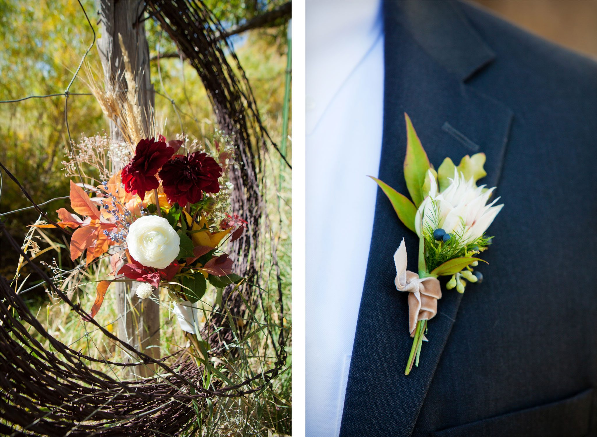 Flowers | An Outdoor Autumn Wedding in Mancos, Colorado