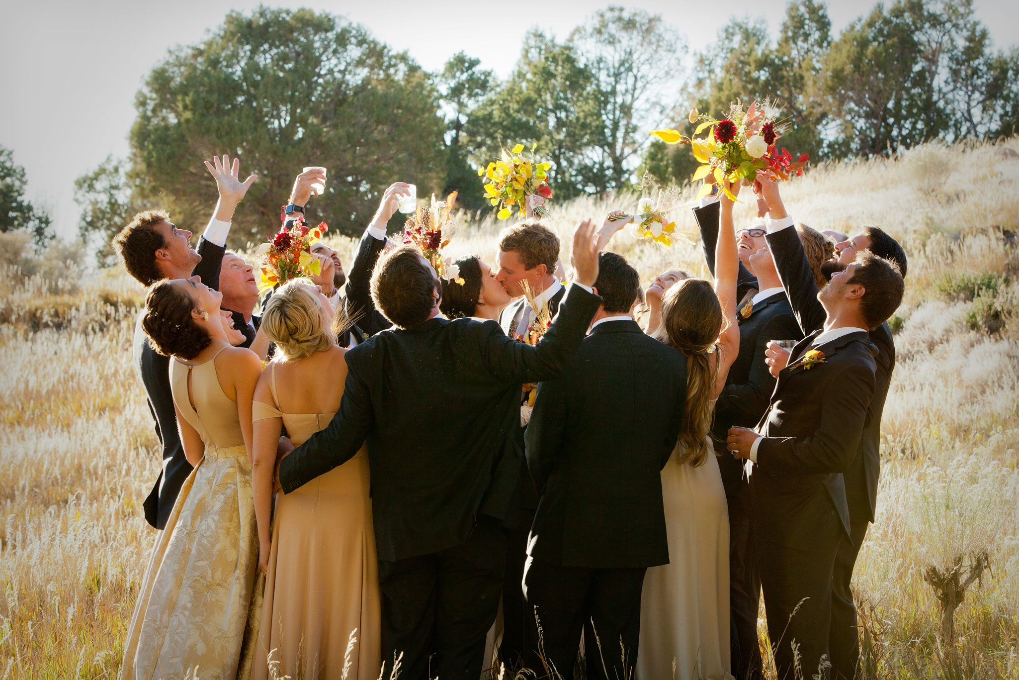 An Outdoor Autumn Wedding in Mancos