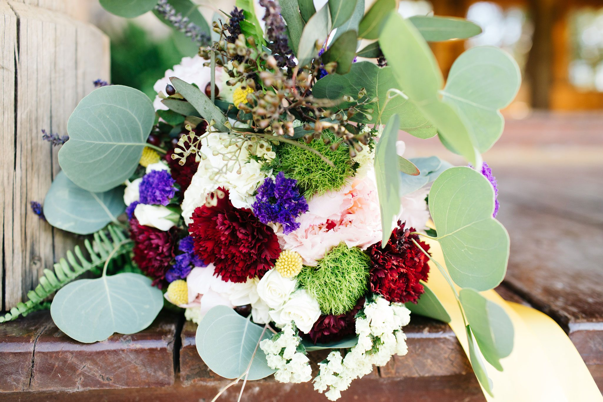 Flower bouquet at Ridgewood Event Center in Durango, Colorado