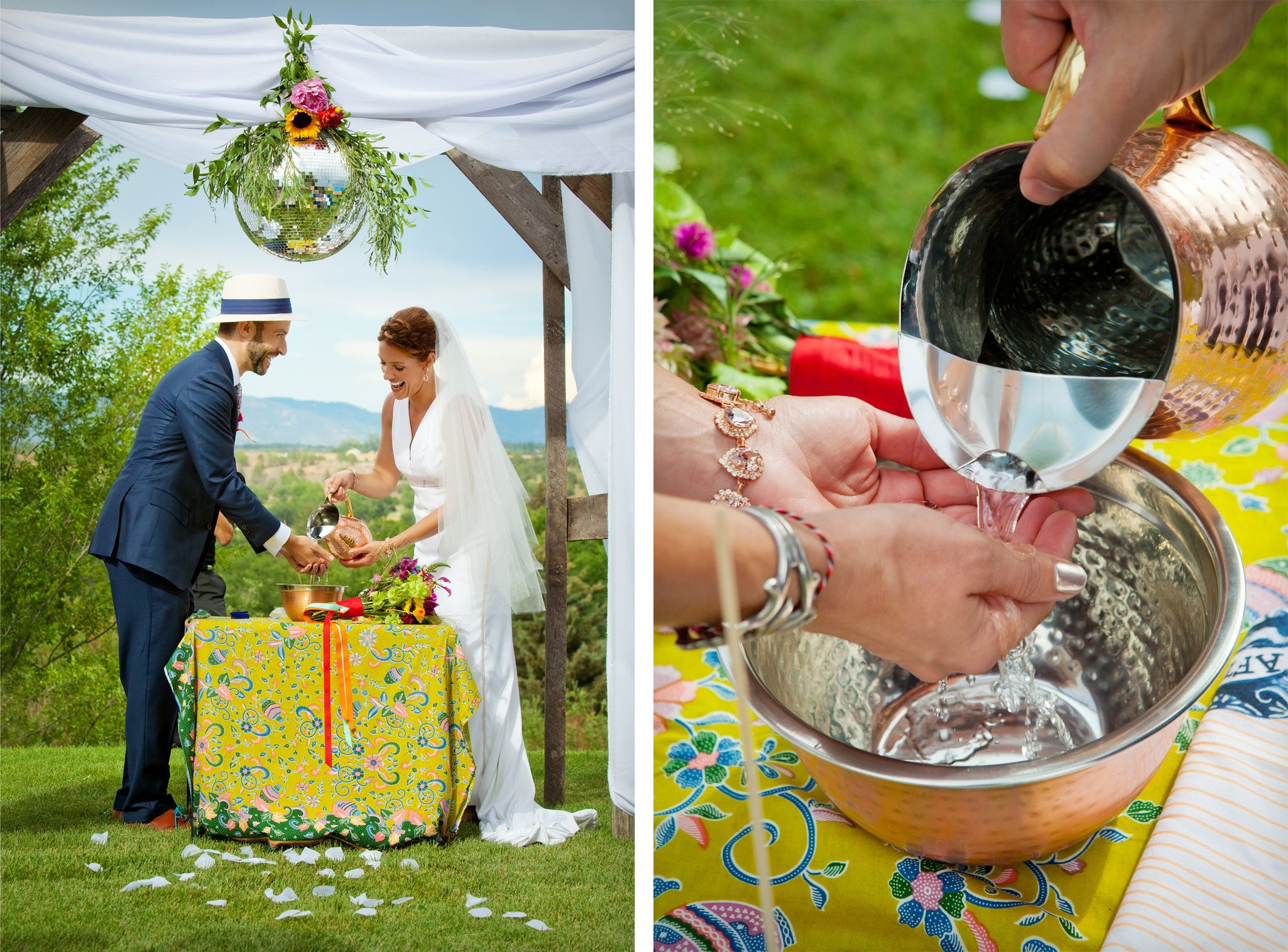 A Mad Hatter Tea Party Meets Carnivale Wedding in Durango, Colorado