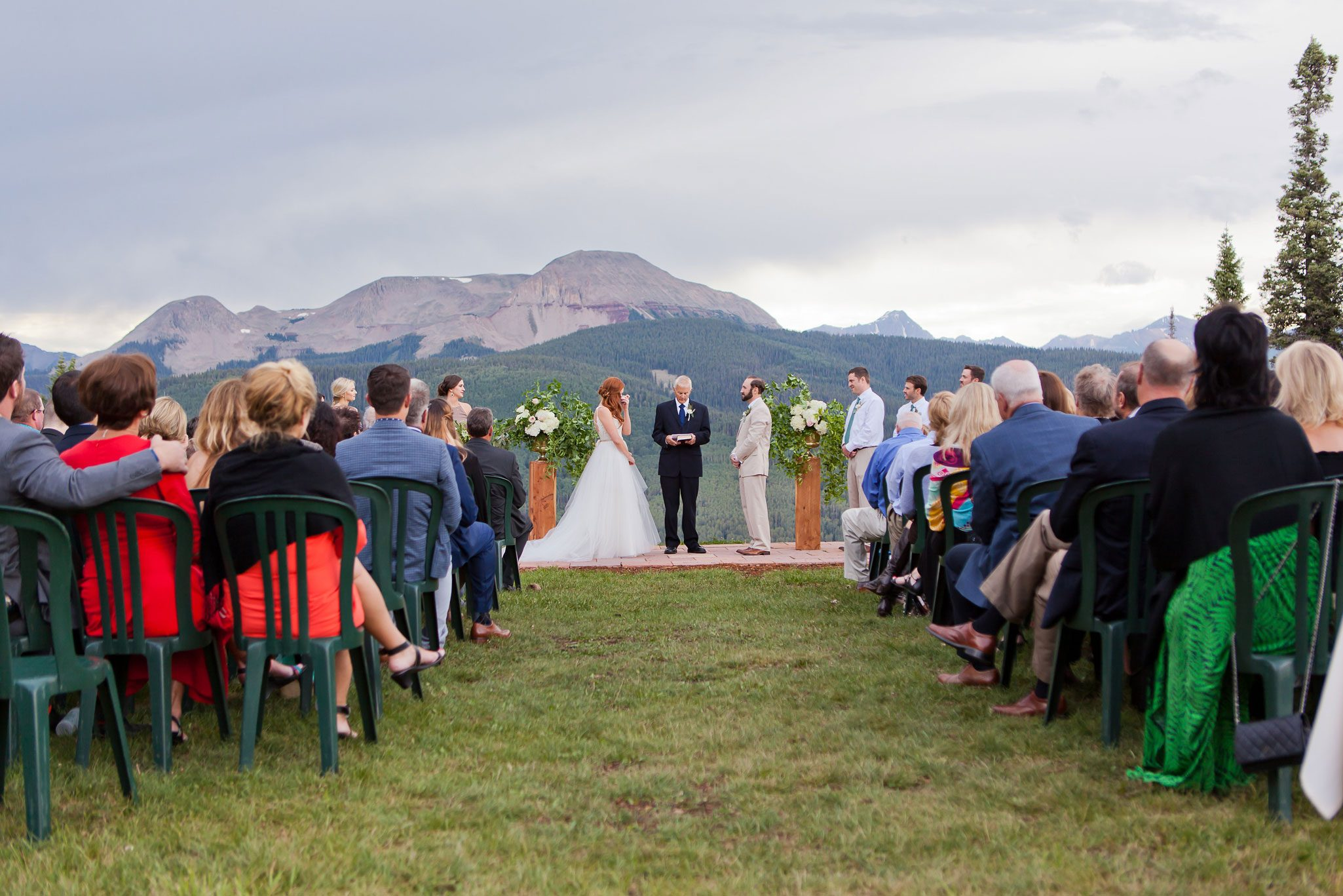 A Modern Mountaintop Ceremony at Purgatory Resort, Durango, Colorado