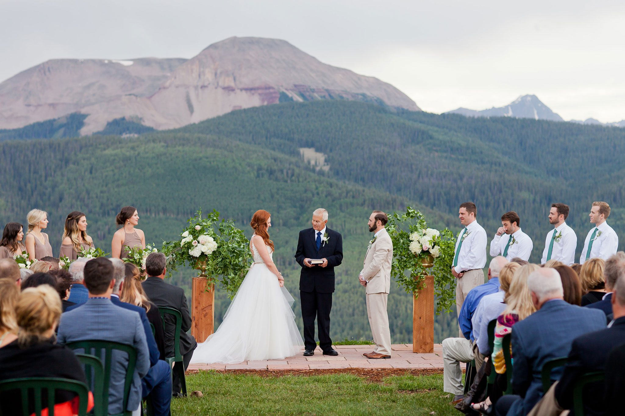 A Mountaintop Ceremony at Purgatory Resort, Durango, Colorado