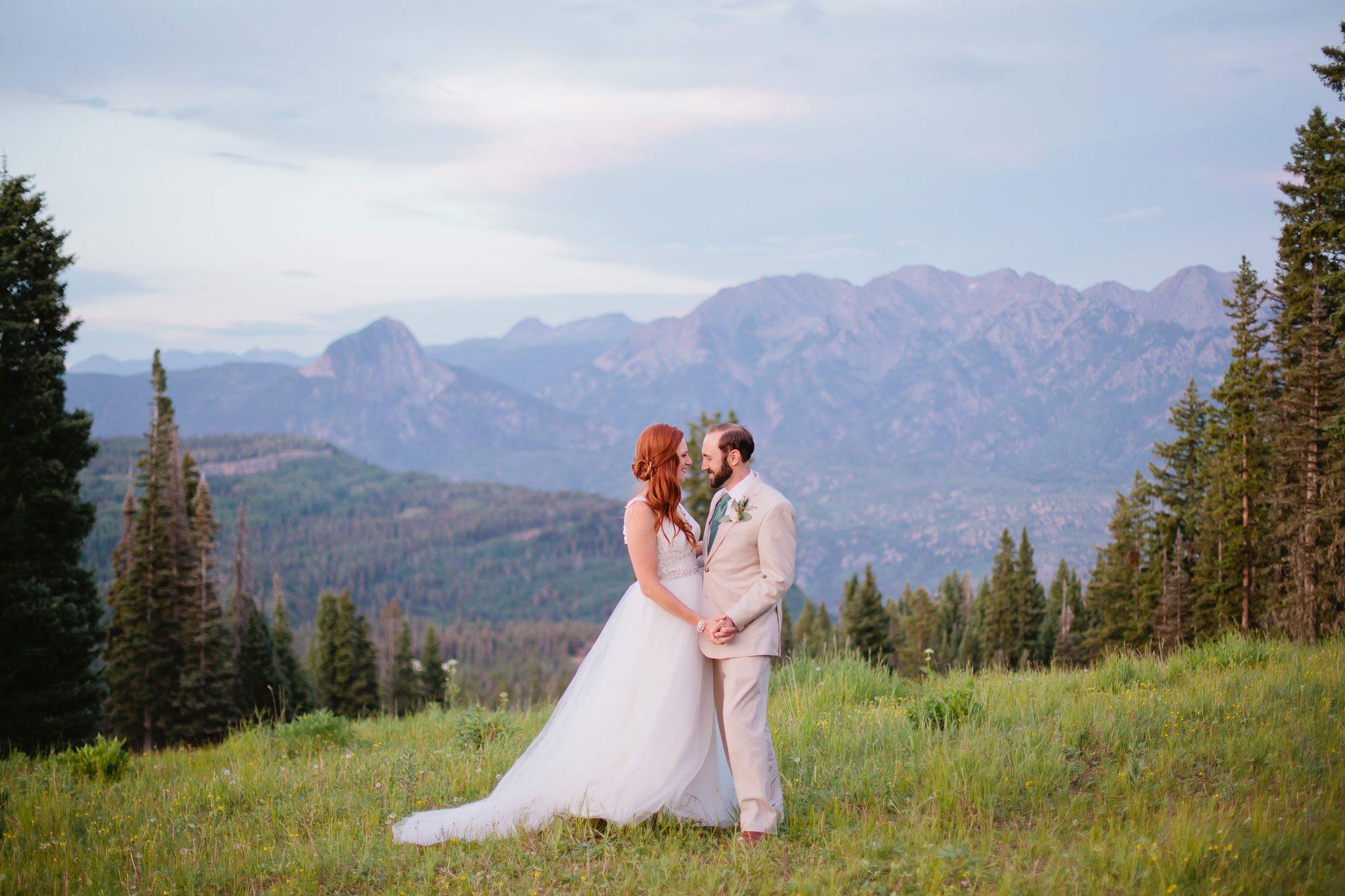 A Mountaintop Wedding in Durango, Colorado