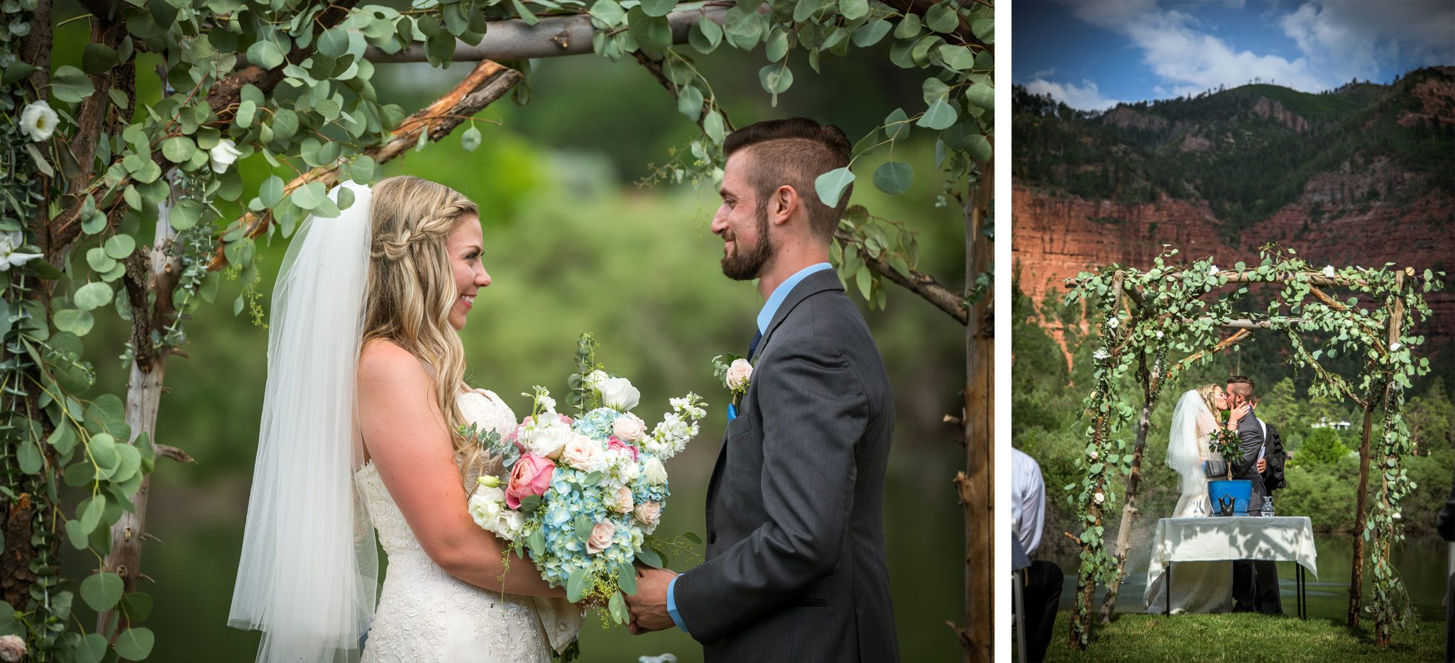 Ceremony | Weddings at River Bend Ranch, Durango