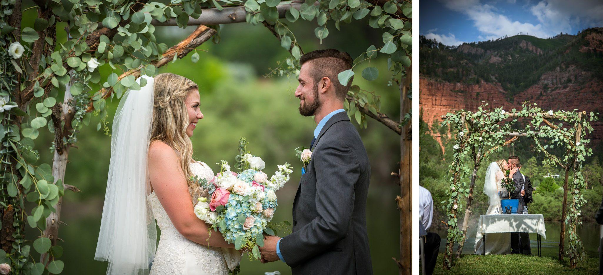 Ceremony   Weddings at River Bend Ranch, Durango