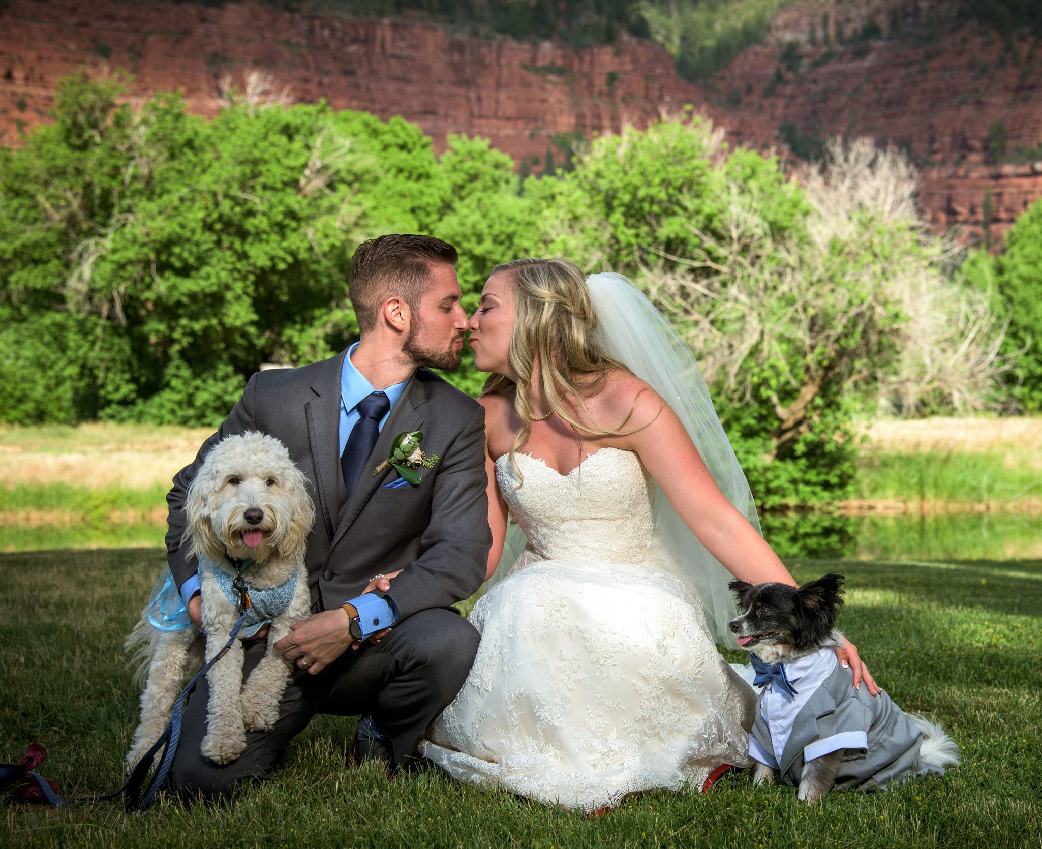 River Bend Ranch wedding, Durango Colorado