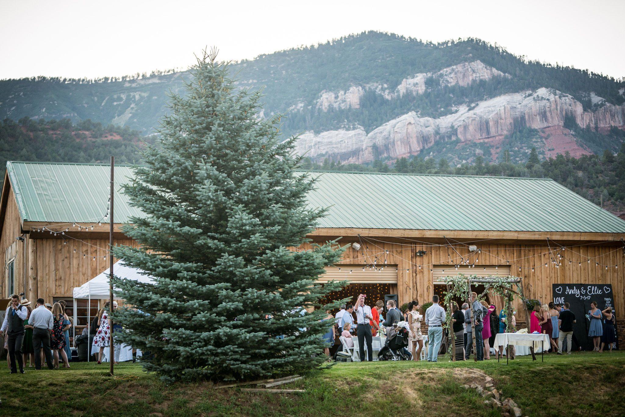 Weddings at River Bend Ranch, Durango