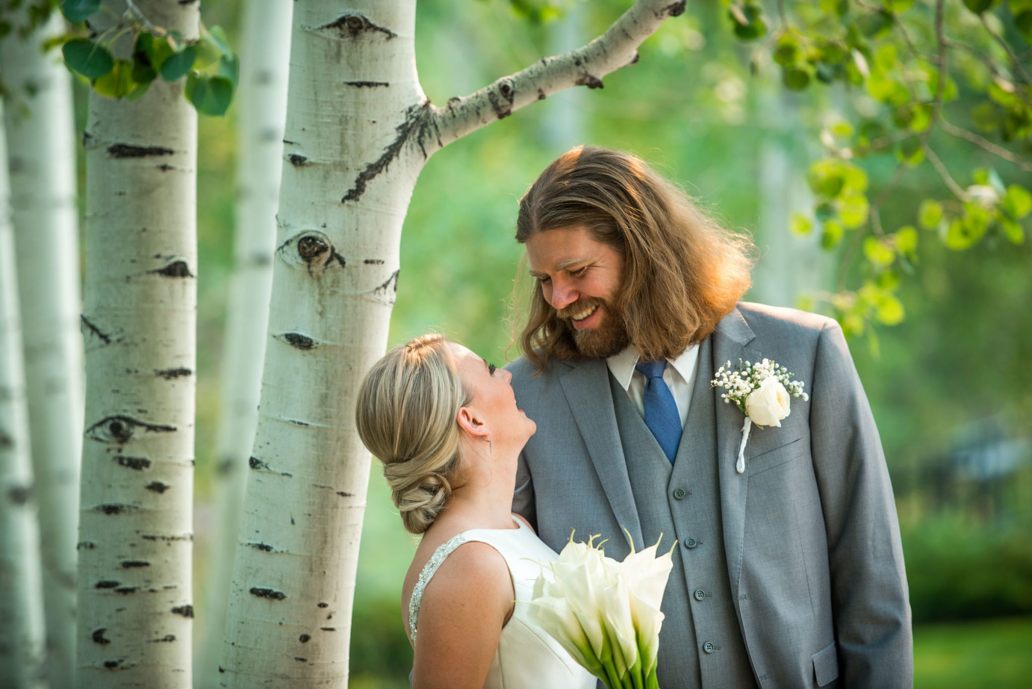 A Love Stronger than Fire. Wedding held during the 416 fire in Durango, Colorado.