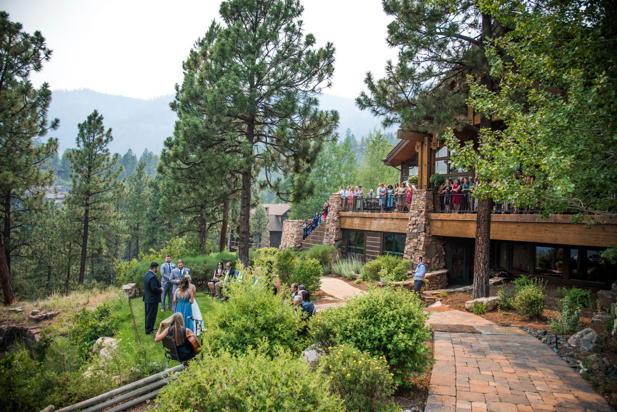Ceremony at Glacier Club, Durango Colorado