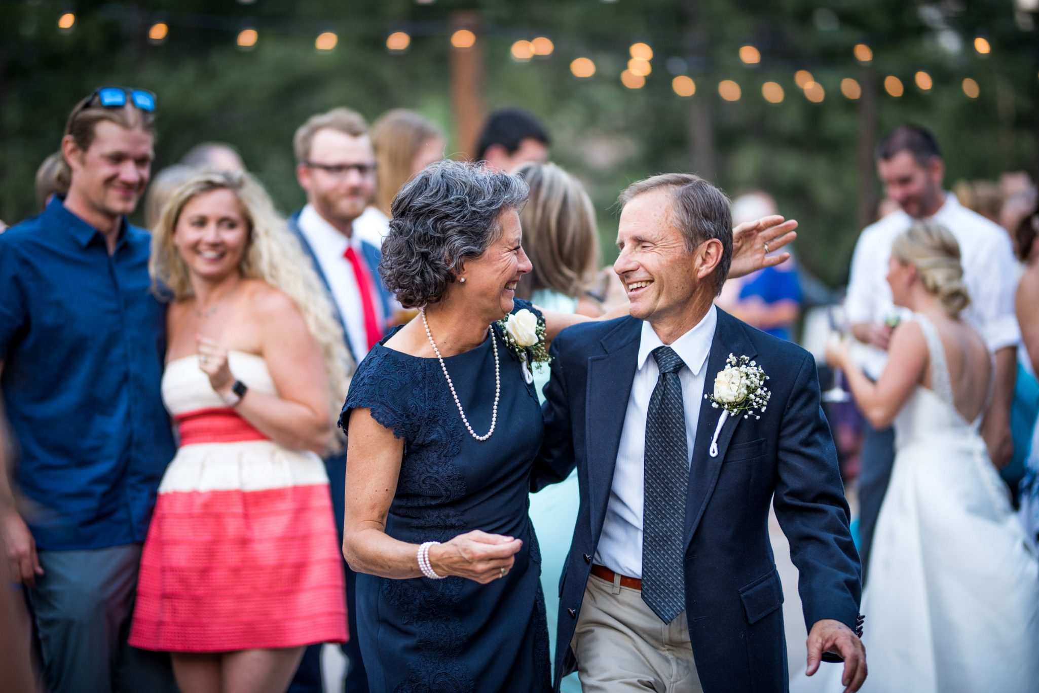 Dancing | Wedding reception at the Glacier Club, Durango Colorado