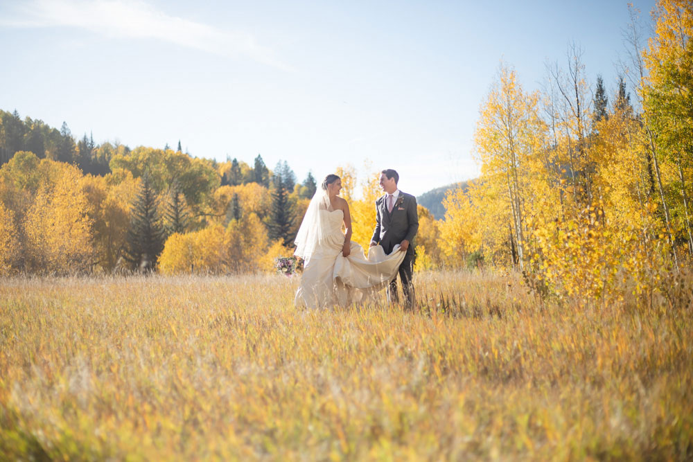 A Simplistic Autumn Wedding on a Rustic Colorado Ranch