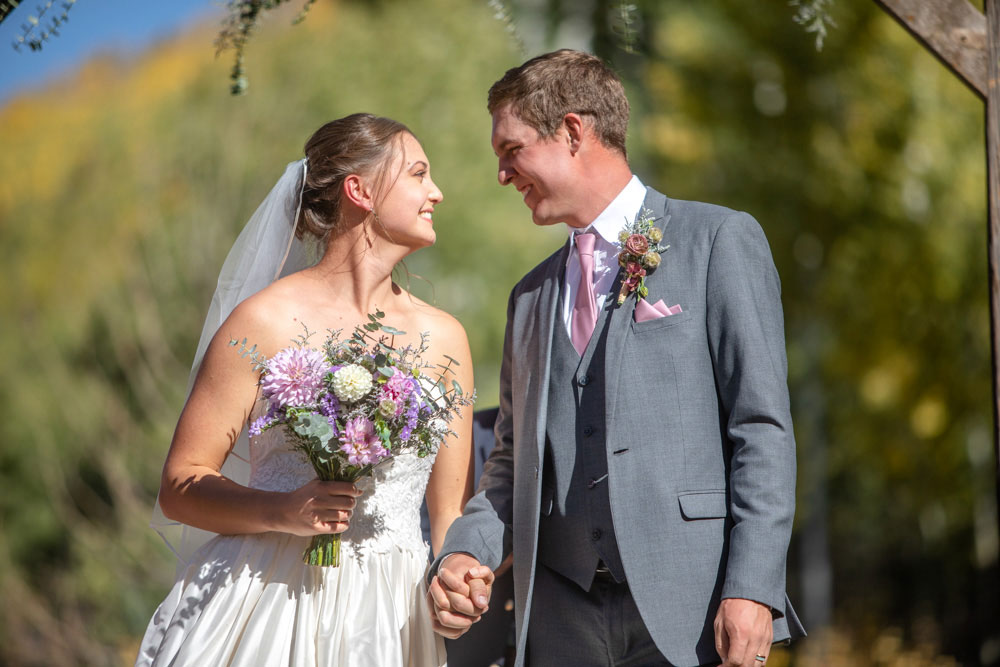 A Simplistic Autumn Wedding on a Rustic Colorado Ranch