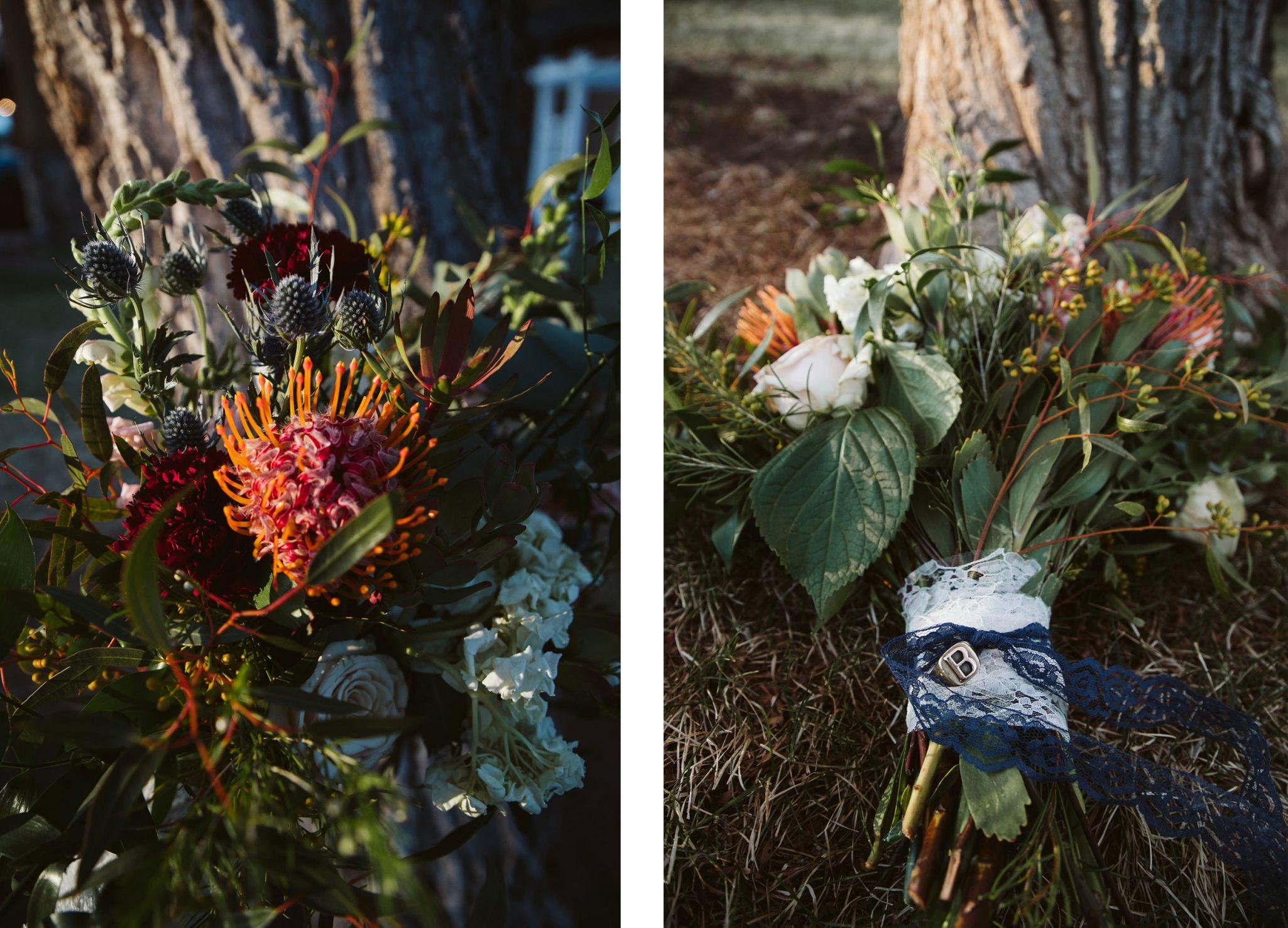 Wedding bouquet by April's Garden via Durango Weddings Magazine