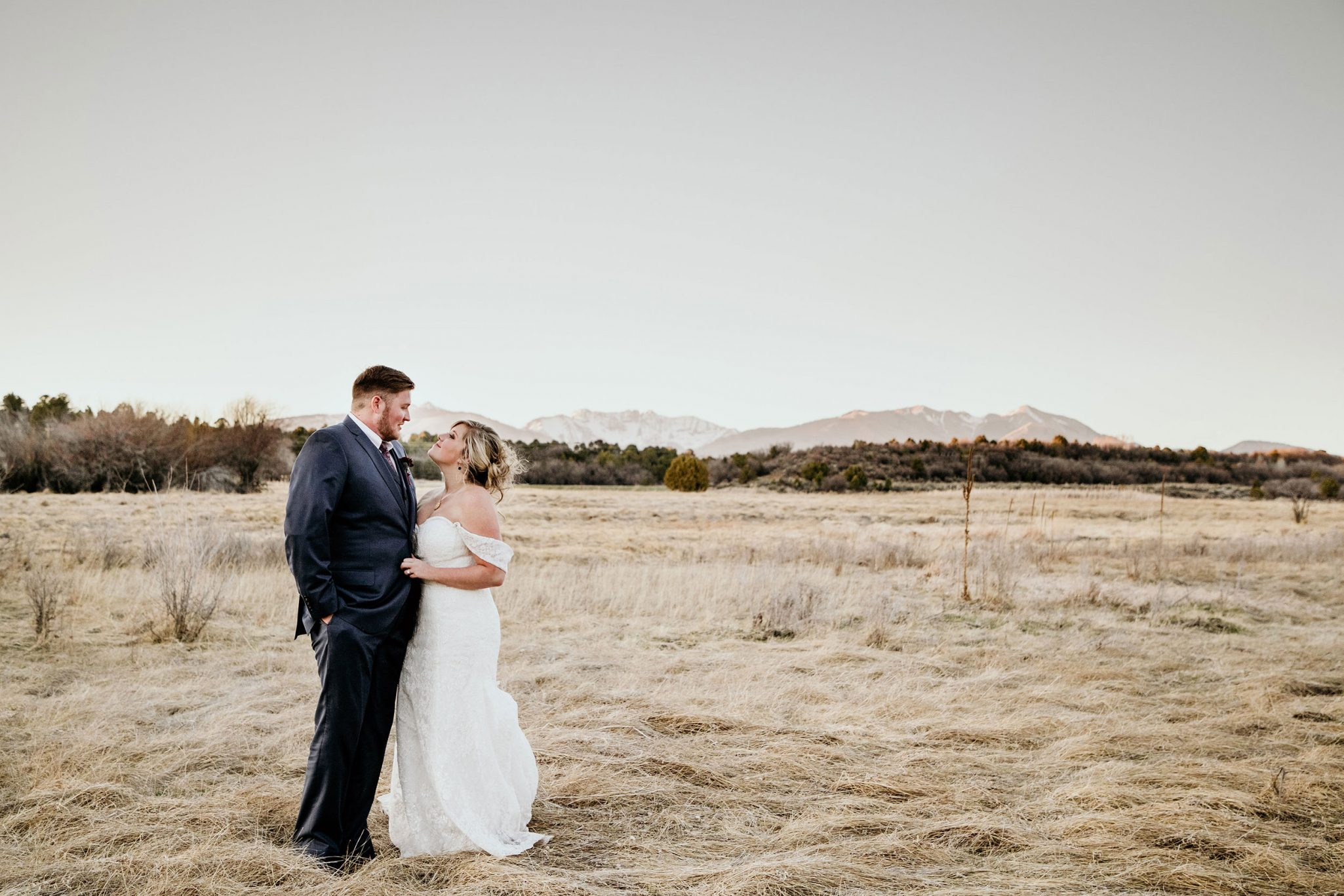 Outdoor ceremony at Ridgewood Event Center via Durango Weddings Magazine