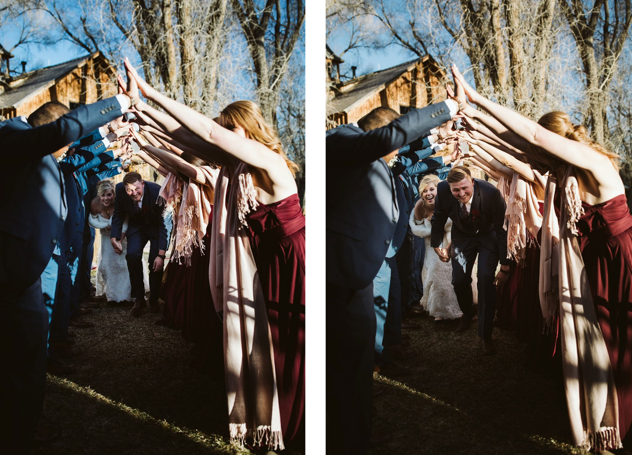 Just married fun | Durango Weddings Magazine