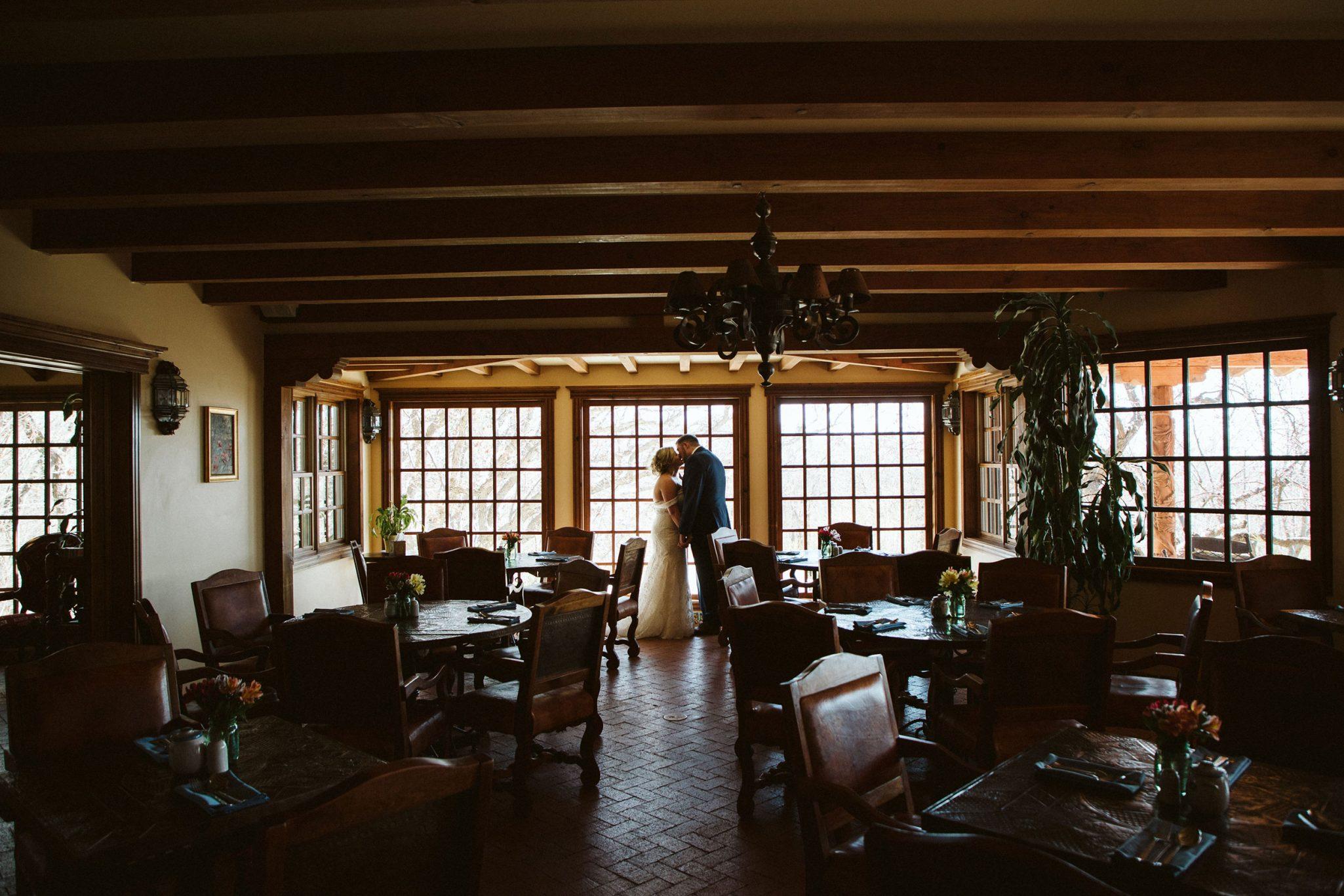 Bride & Groom at Blue Lake Ranch | Durango Weddings Magazine
