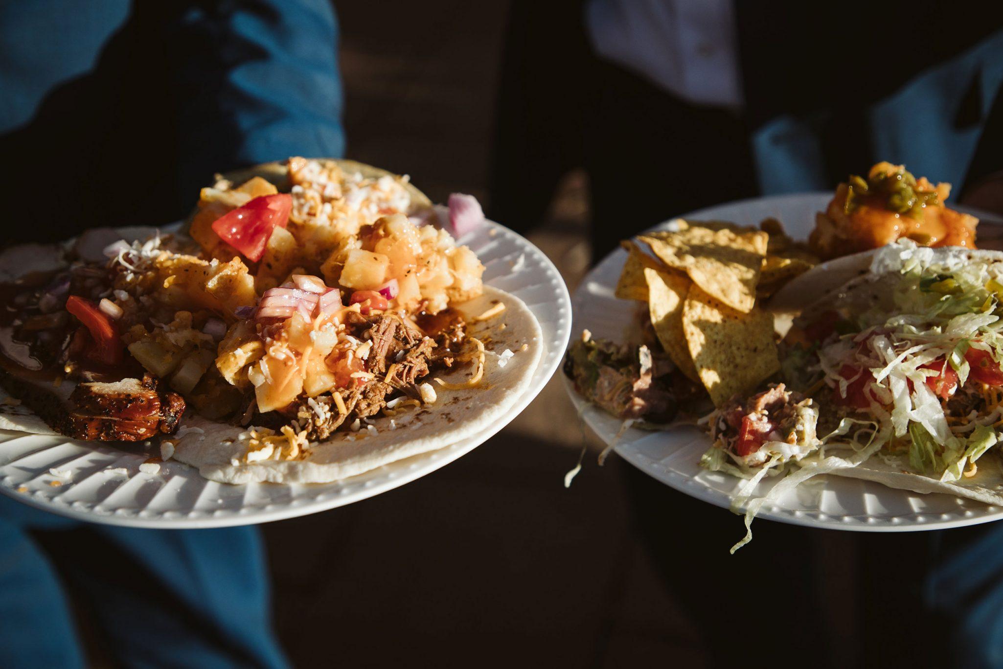 Serious Texas Bar-B-Q catering | Durango wedding
