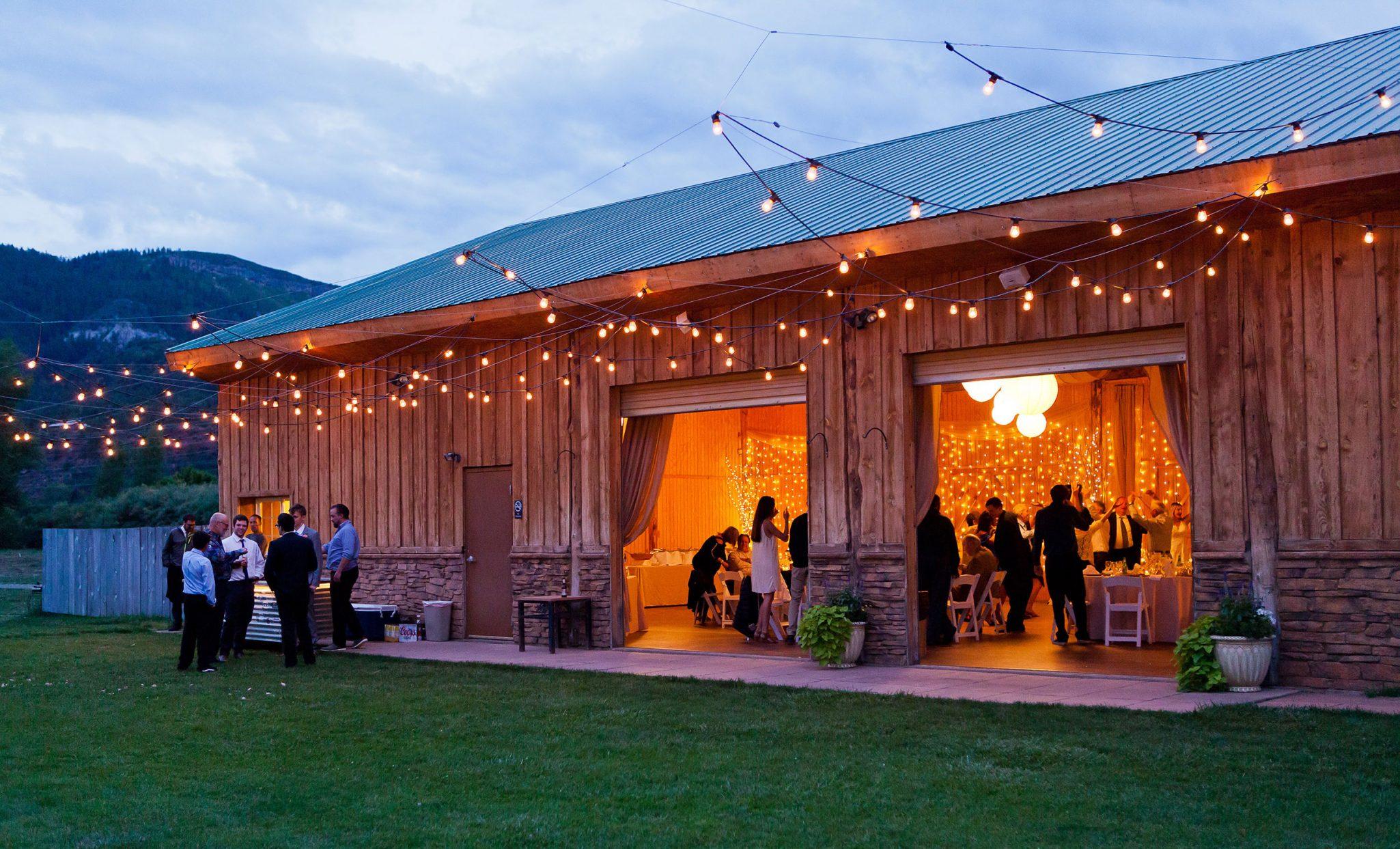 Wedding Reception at River Bend Ranch, Durango Colorado