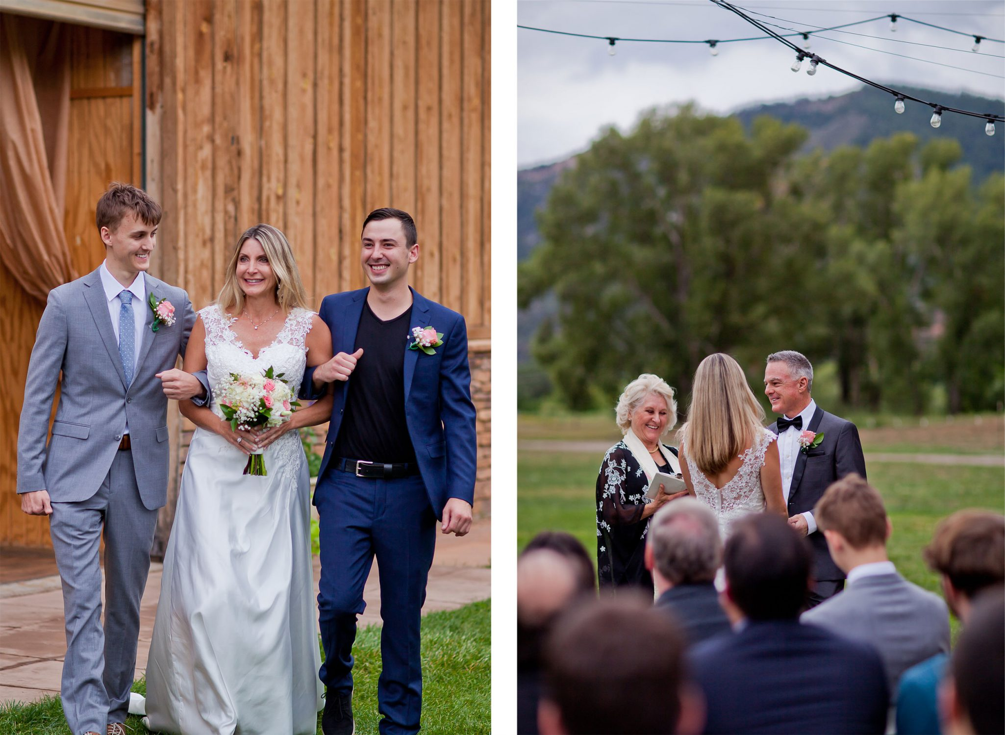 Ceremony | A Simple Durango Wedding Planned in Three Months at River Bend Ranch