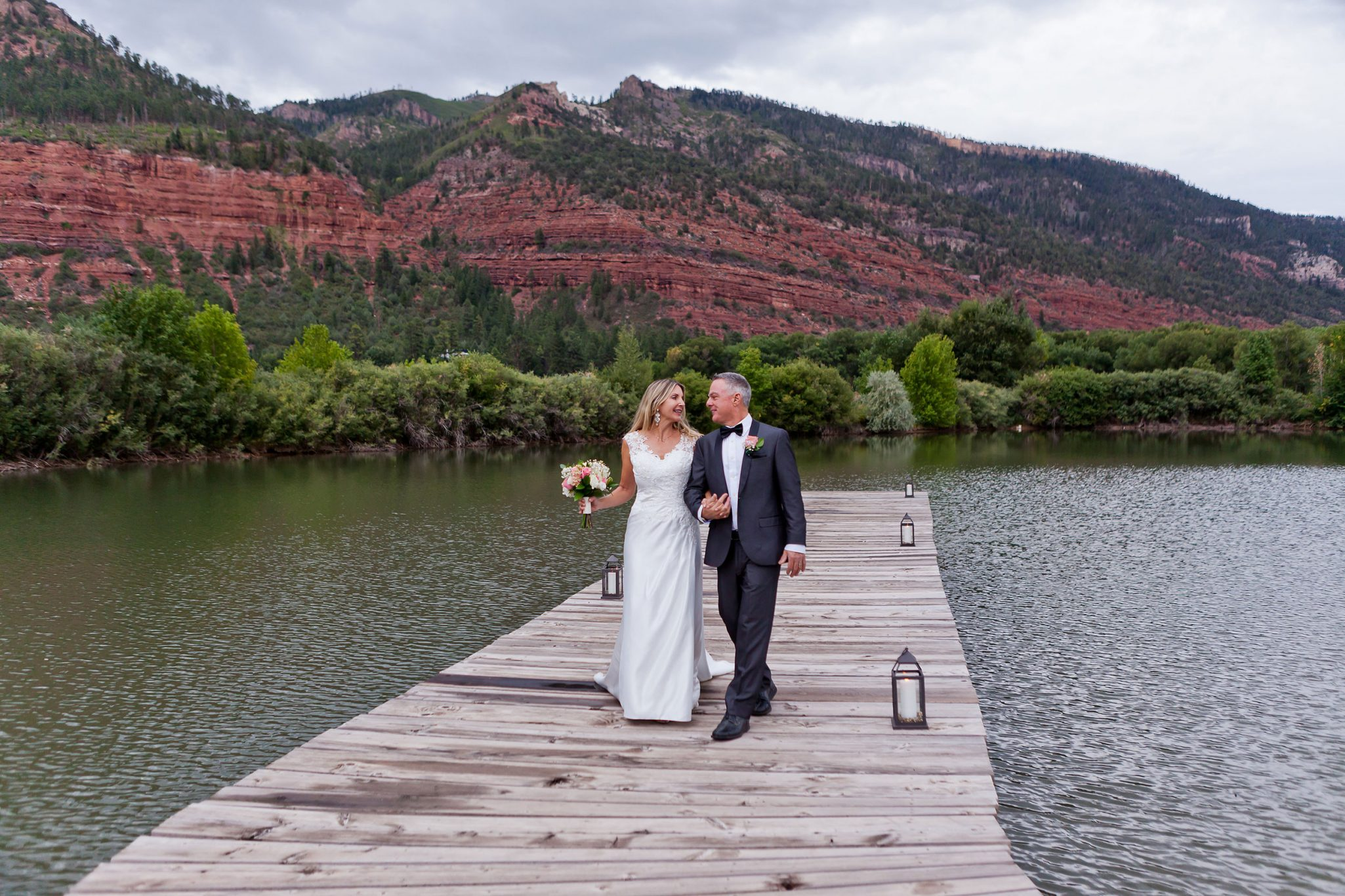 The Lake at River Bend Ranch in Durango, Colorado