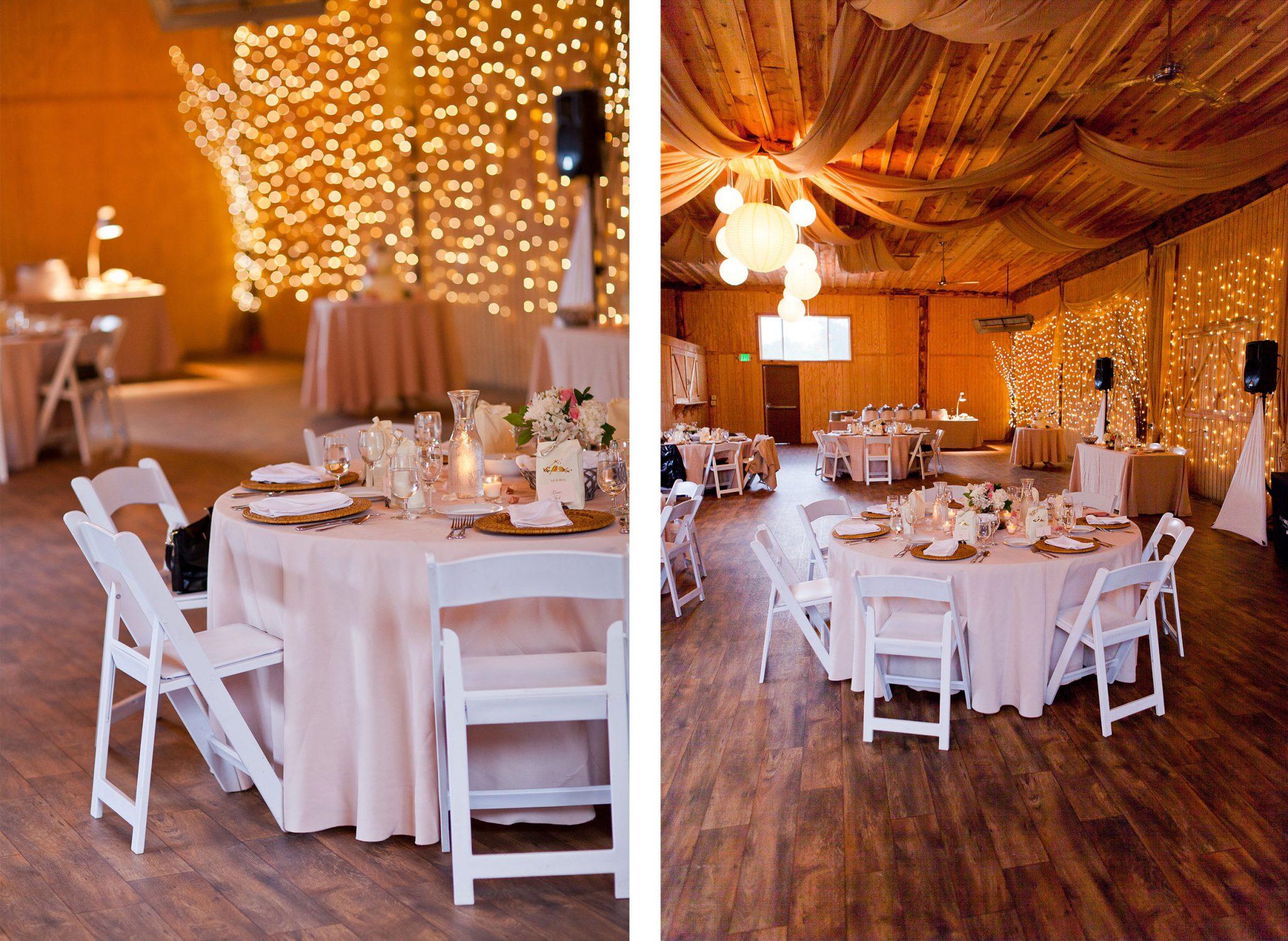 Wedding Reception at River Bend Ranch in Durango, Colorado