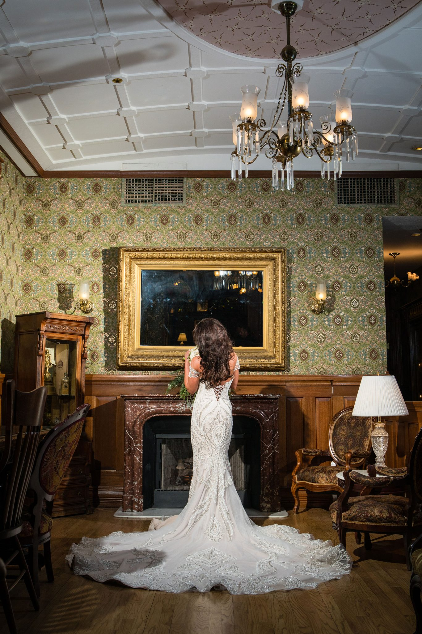 Steven Kahali $12k wedding dress | Durango Weddings Magazine