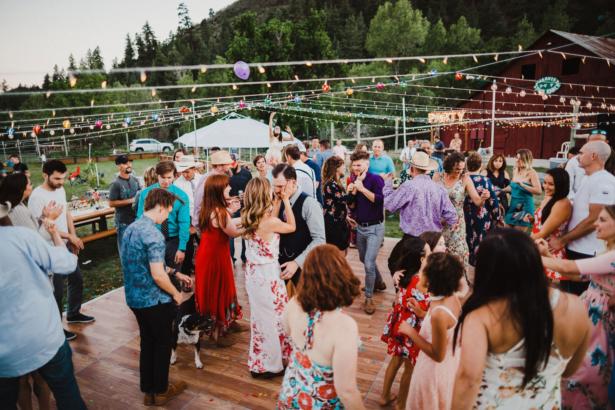 A Whimsical & Joyous Wedding Day in Durango, Colorado