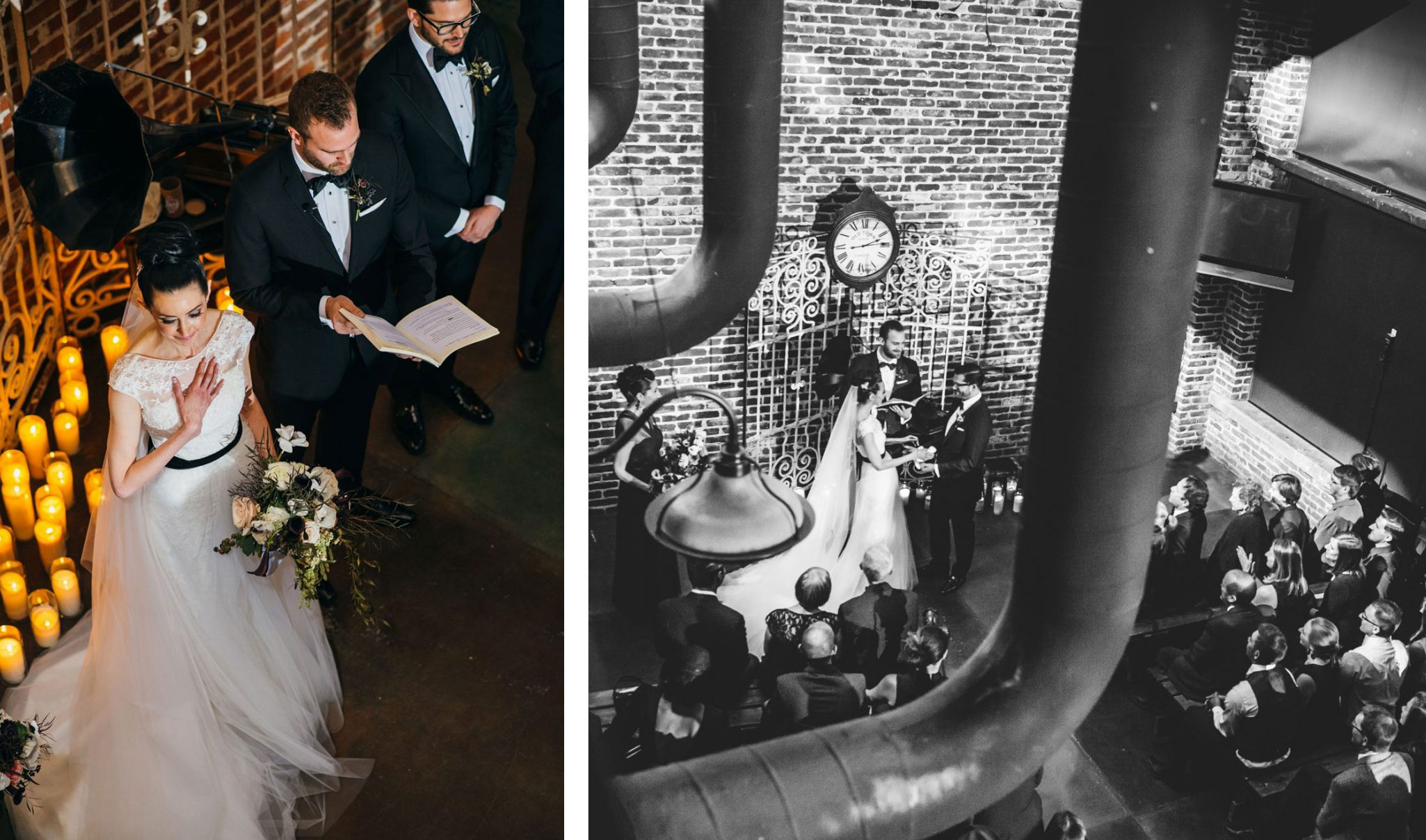 Exchange eulogies instead of vows as this couple did