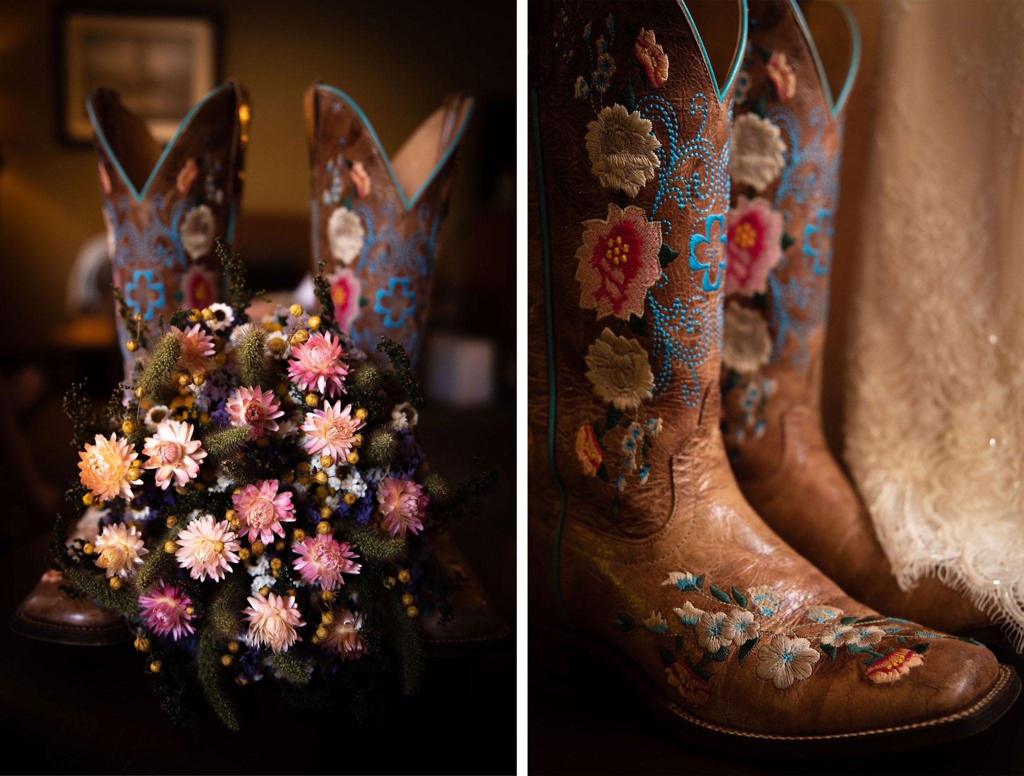 Wedding Cowboy Boots   Durango Weddings Magazine