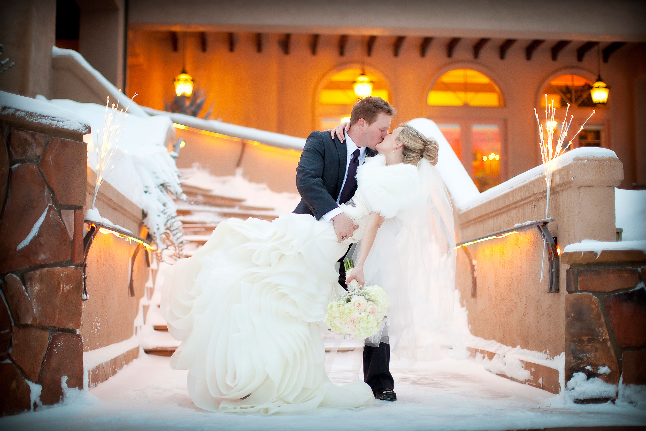 A winter wedding at Keyah Grande, Pagosa Springs, CO