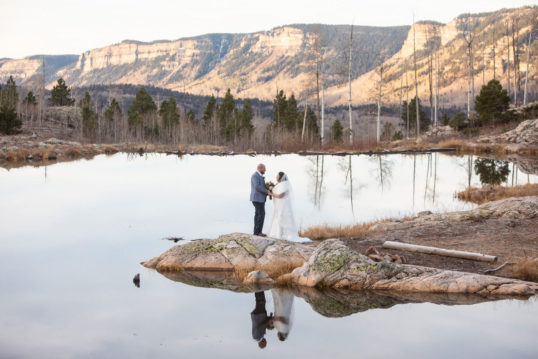 Ceremony | A Durango Elopement in the Mountains