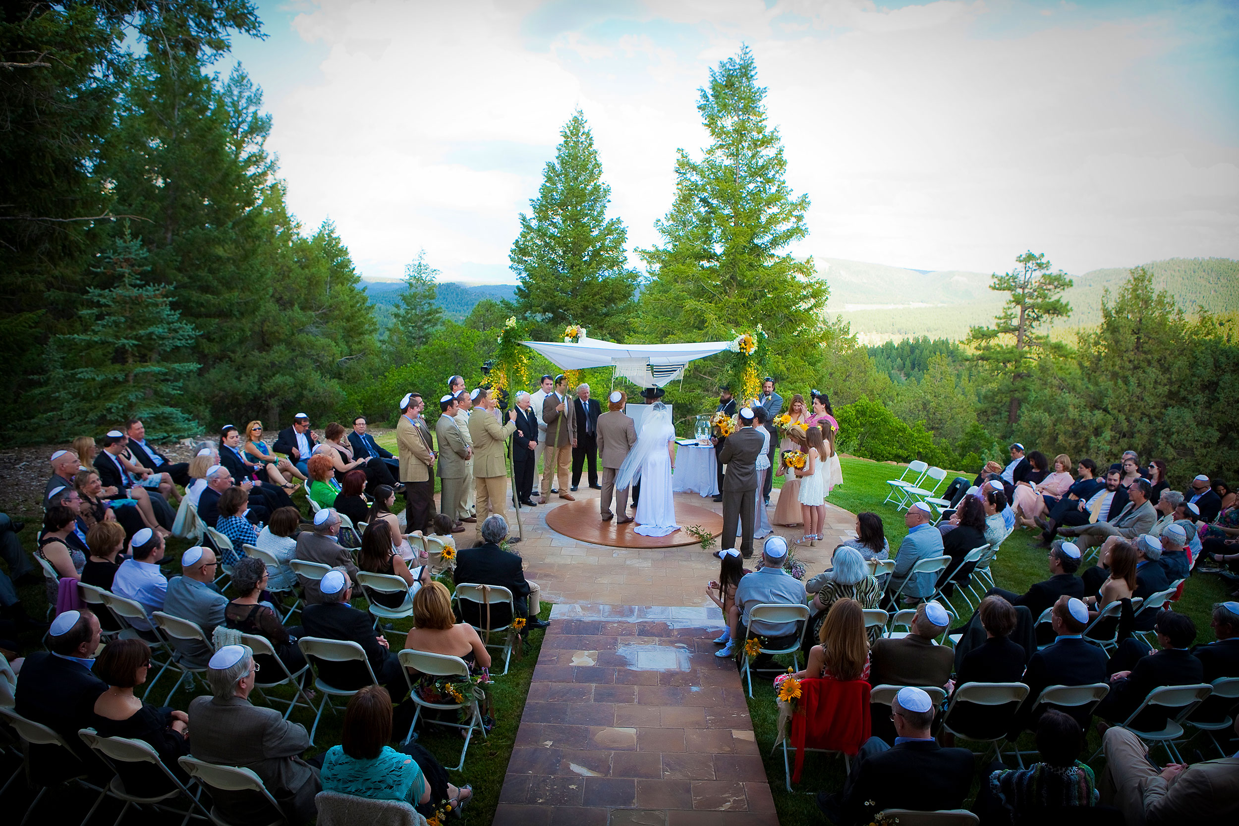 Woodsy Elegant Wedding at Keyah Grande, Pagosa Springs, CO