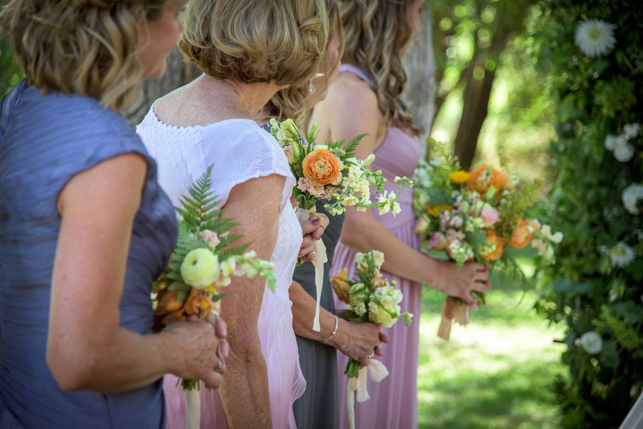 Wedding ceremony along the Animas River via Durango Weddings Magazine