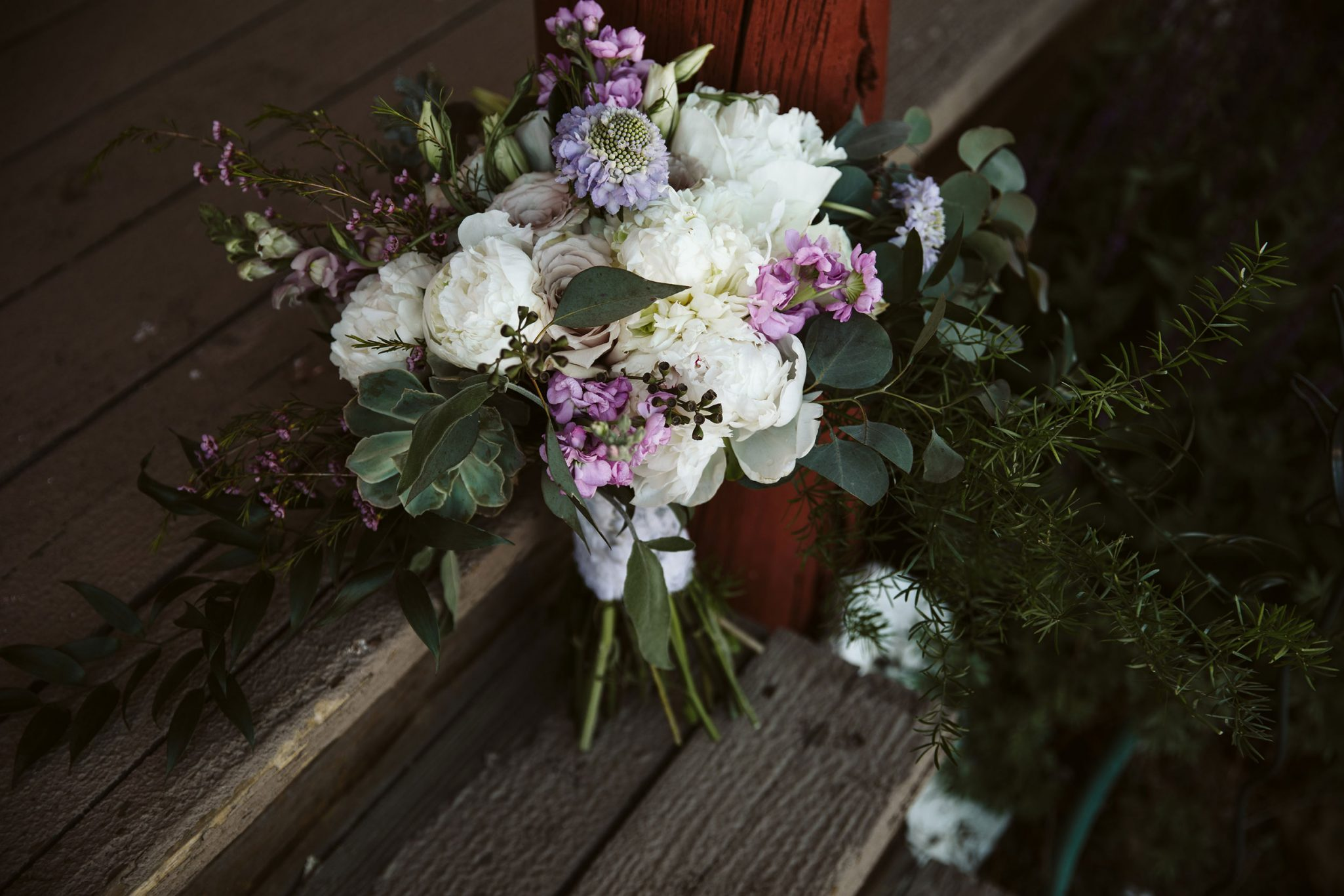 Flower bouquet by April's Garden | Durango Weddings Magazine