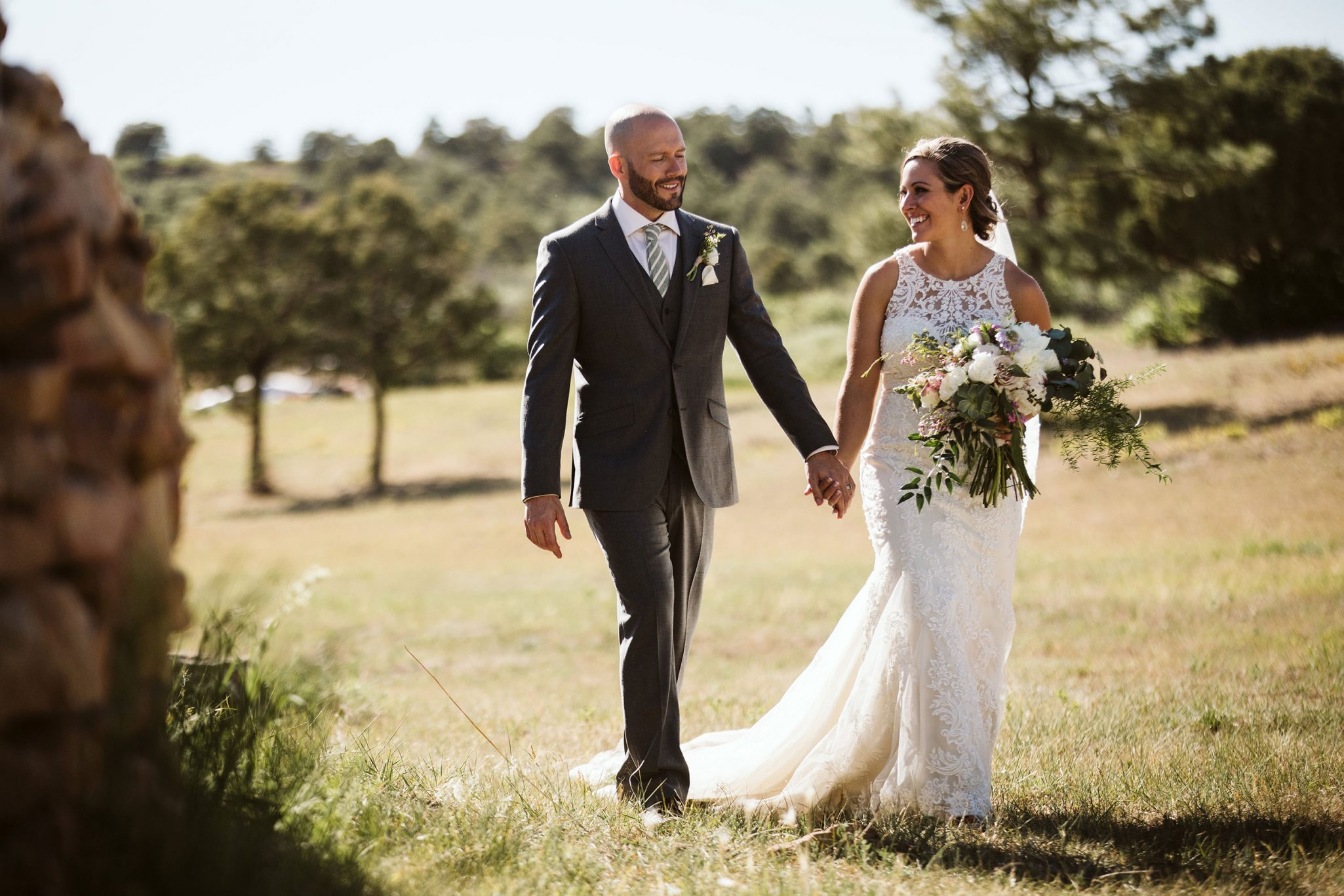 Happy bride & groom | Durango Weddings Magazine