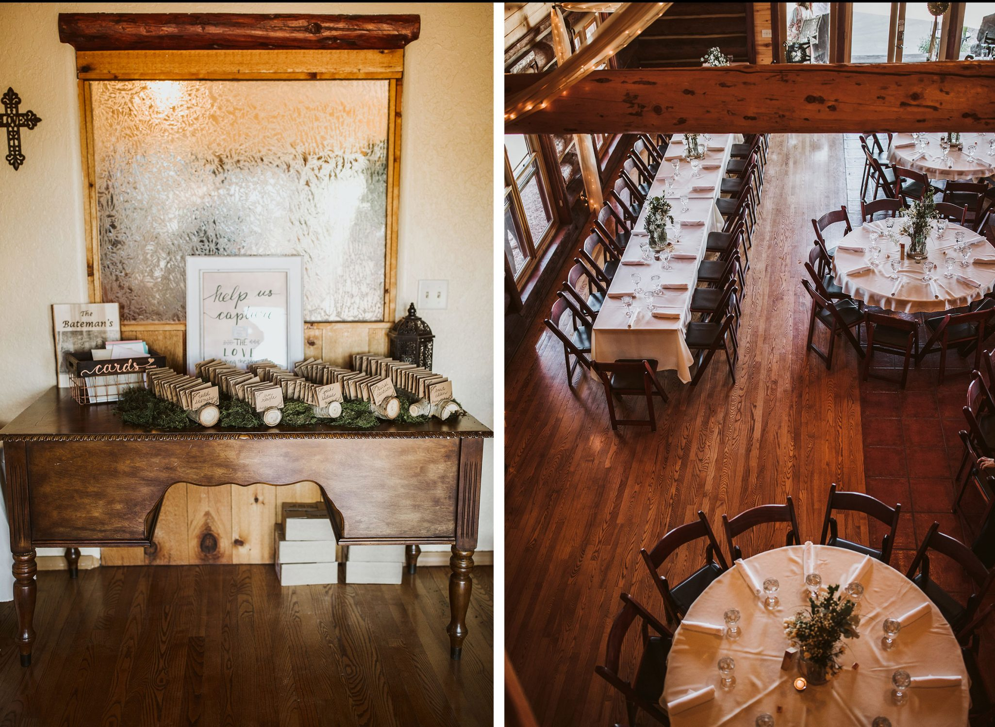 Reception at Sophia Retreat Center | Durango Weddings Magazine