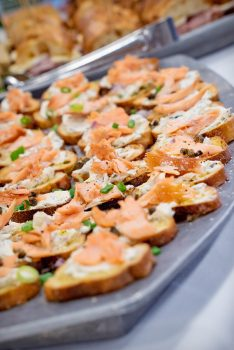 Durango Wedding Expo / caterers & food samples