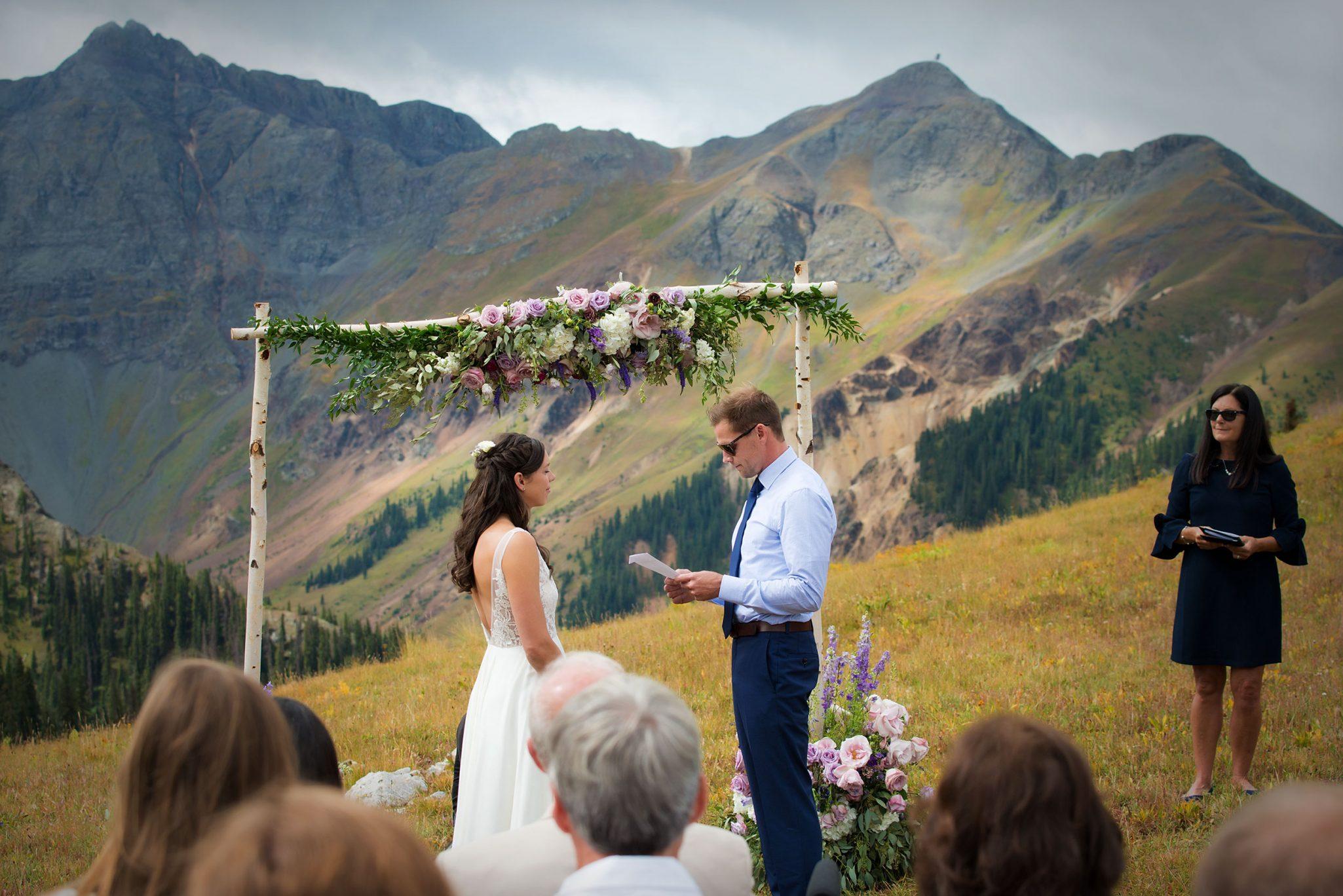 A Mountain Adventure Wedding in Silverton, Colorado