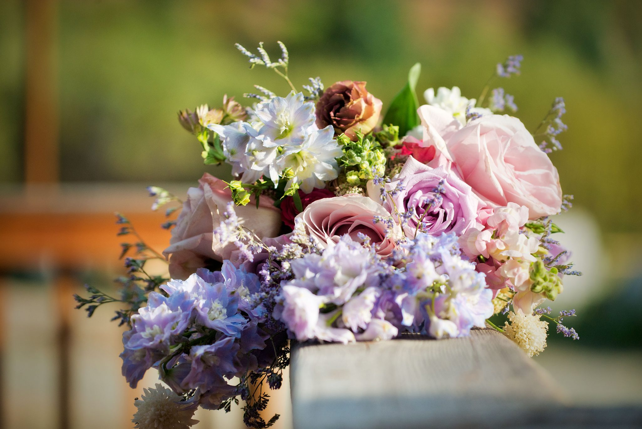 Flower bouquet from Mountain Adventure Wedding in Silverton, Colorado