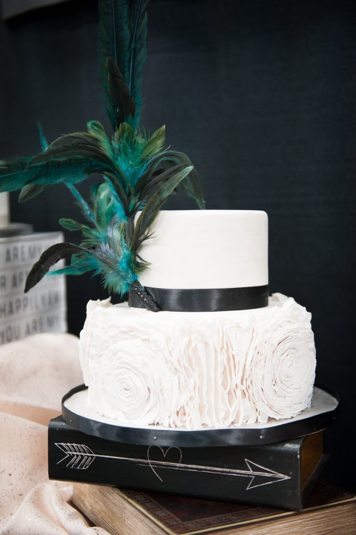 Wedding cake by Indulge Dessert Kitchen