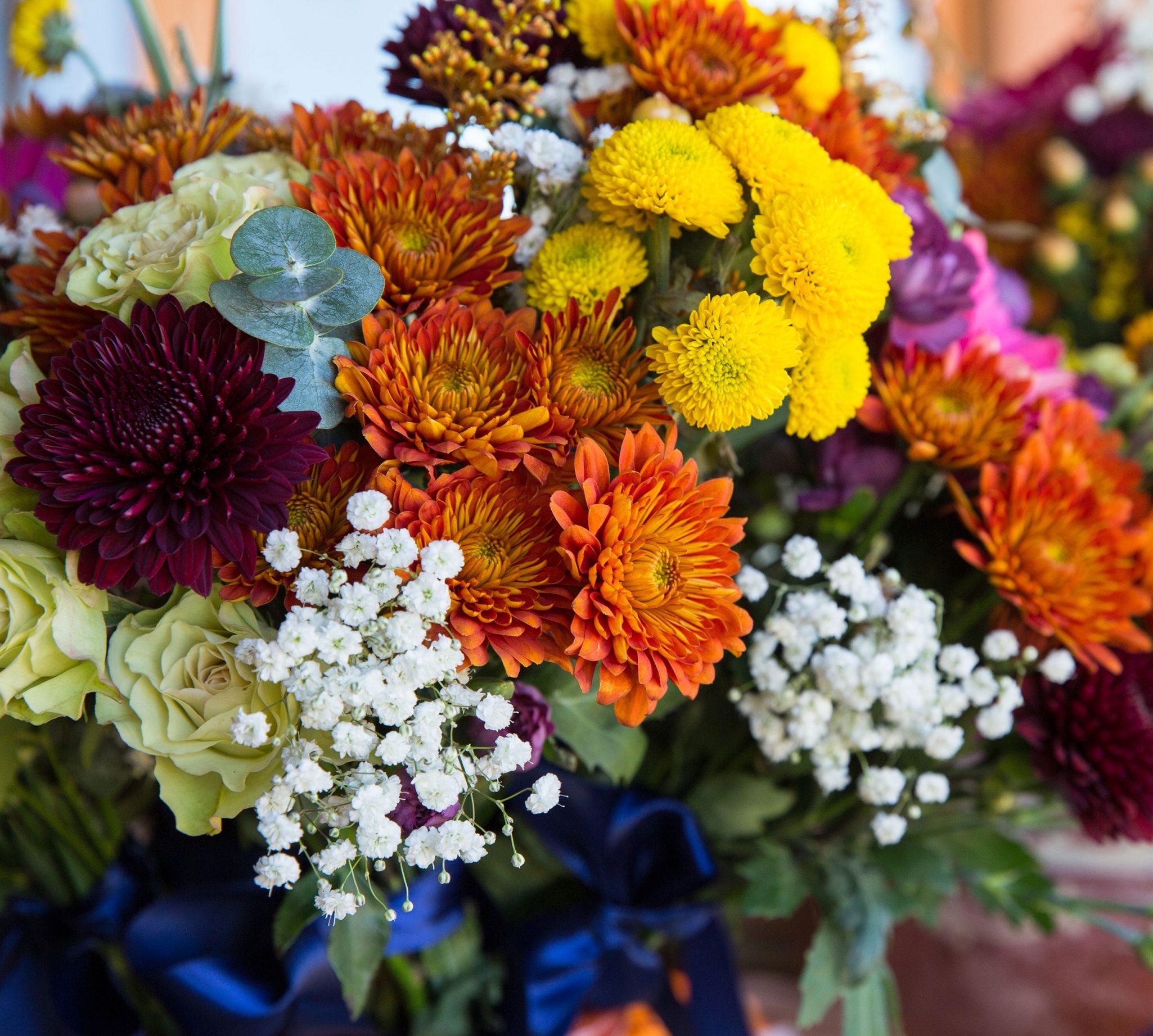 Flowers at Ridegwood Event Center, Durango Colorado