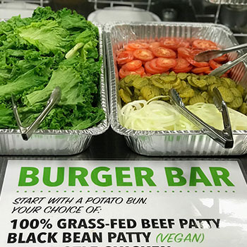 Grassburger Durango mobile food caterer for Durango weddings.