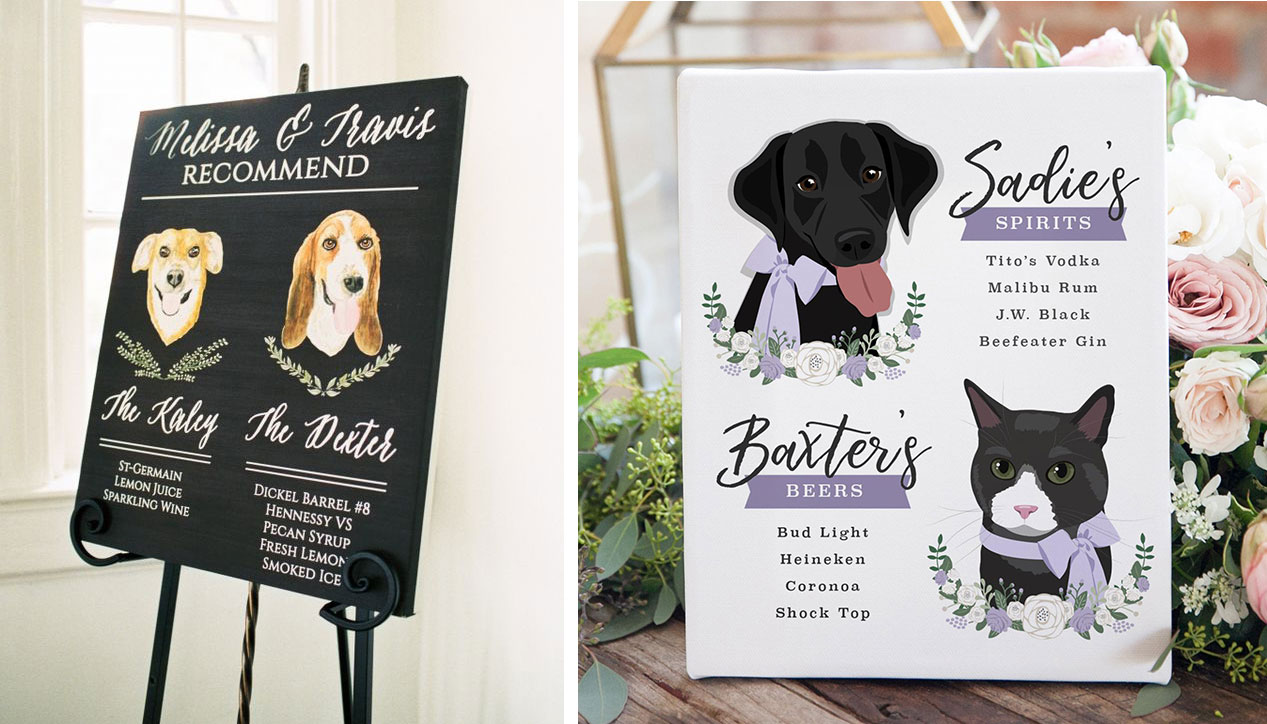 Pet inspired signature drinks