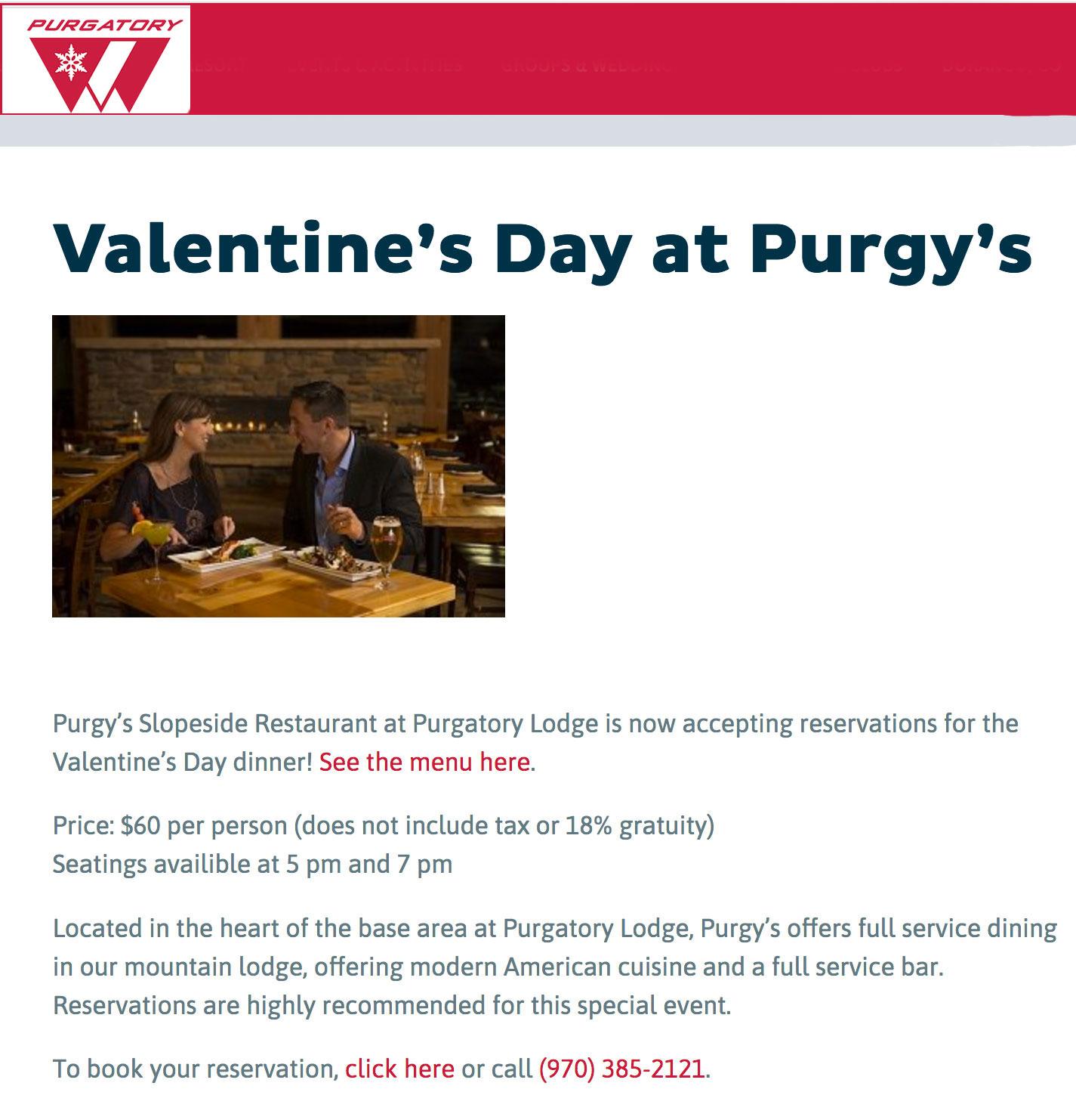 Valentine's Day at Purg