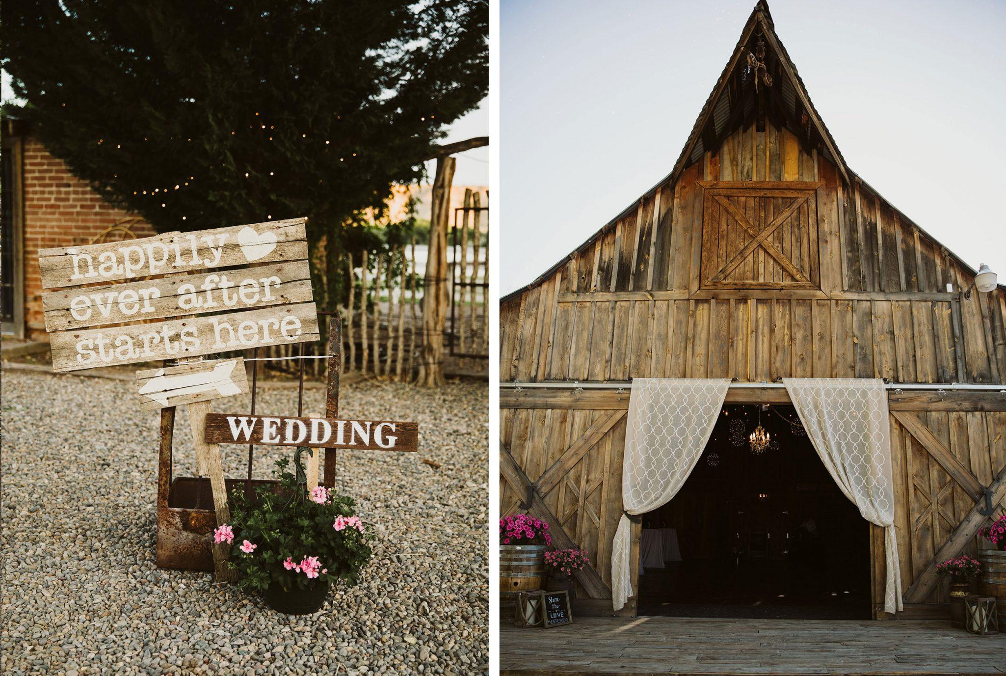 A Simple & Rustic Wedding at Triple J Ranch, New Mexico /. Durango Weddings Magazine